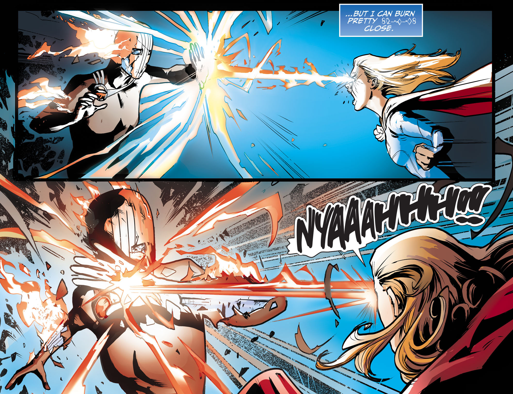 Read online Adventures of Supergirl comic -  Issue #9 - 16