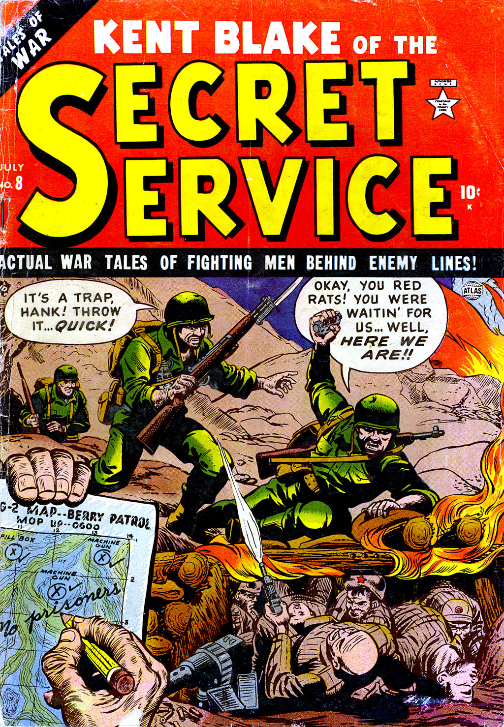 Kent Blake of the Secret Service issue 8 - Page 1
