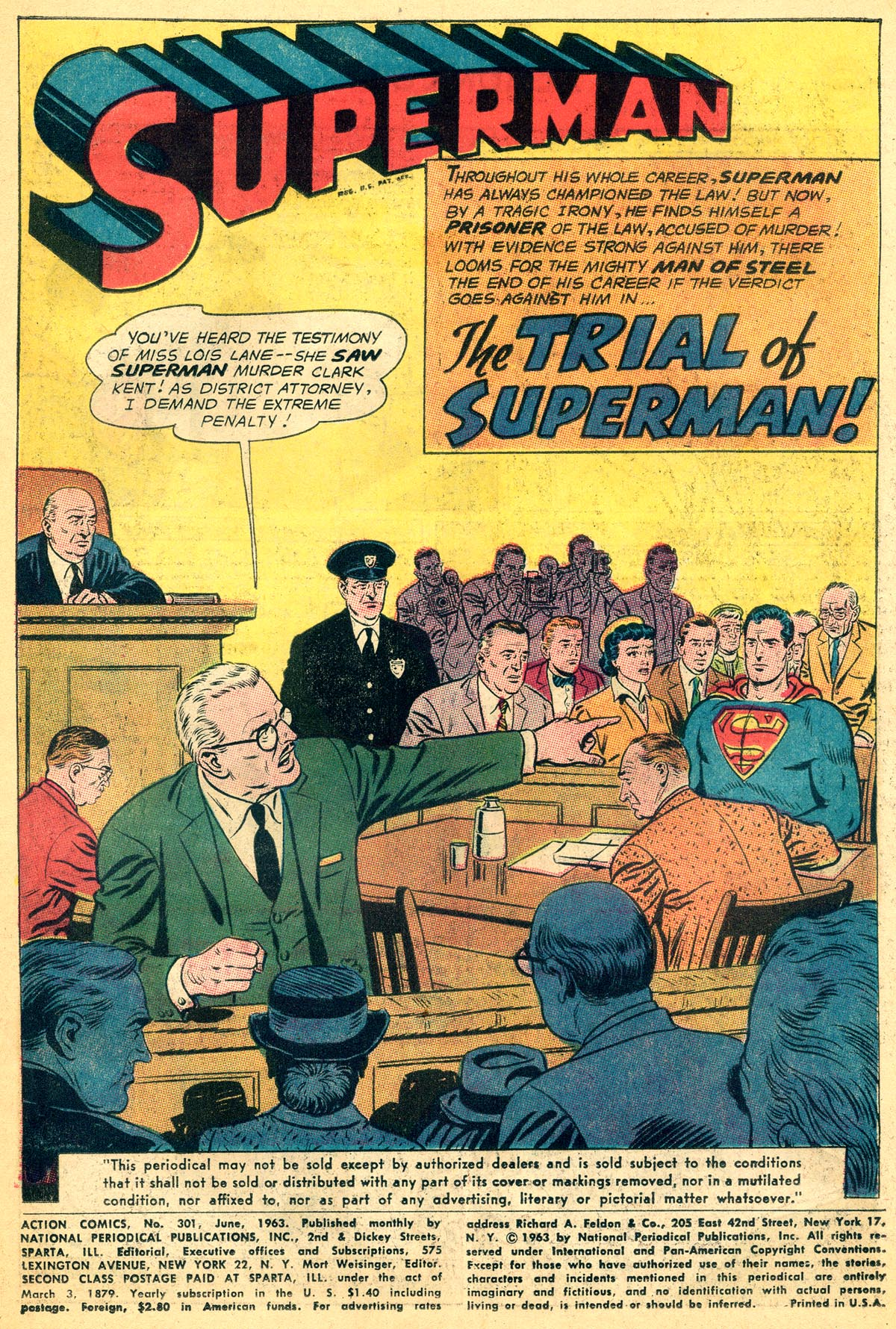 Read online Action Comics (1938) comic -  Issue #301 - 3