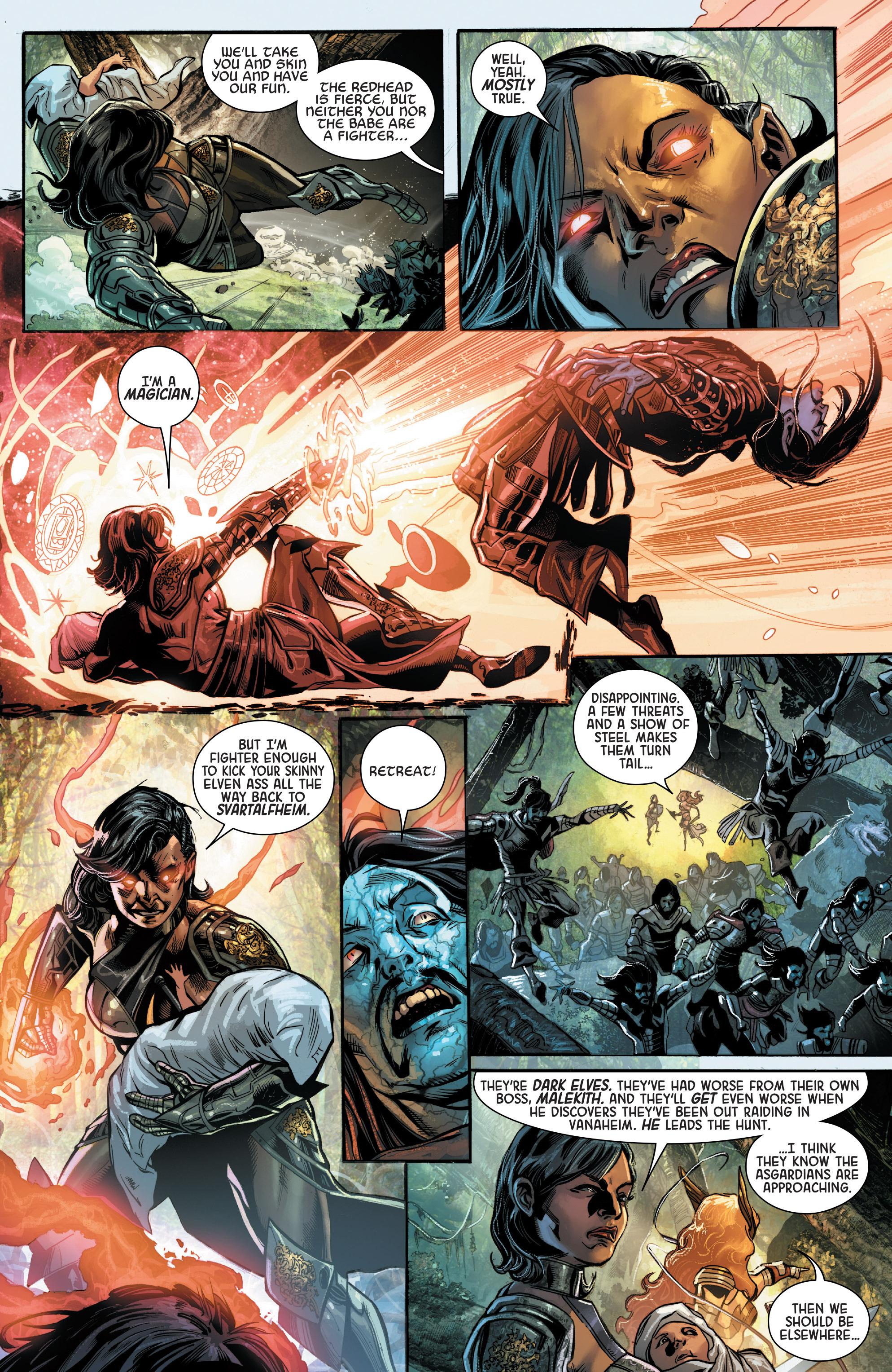 Read online Angela: Asgard's Assassin comic -  Issue #3 - 5