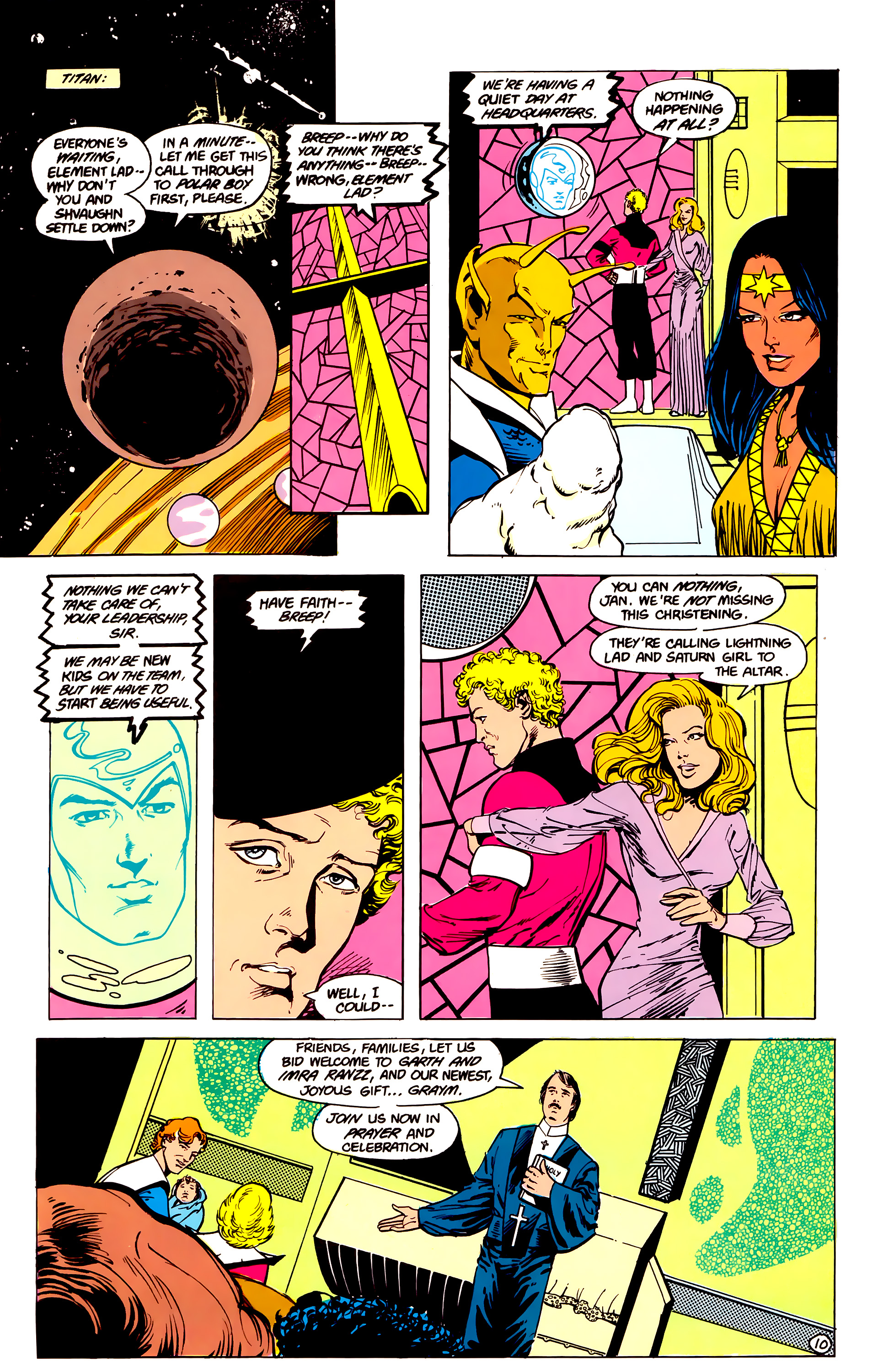 Legion of Super-Heroes (1984) 16 Page 11