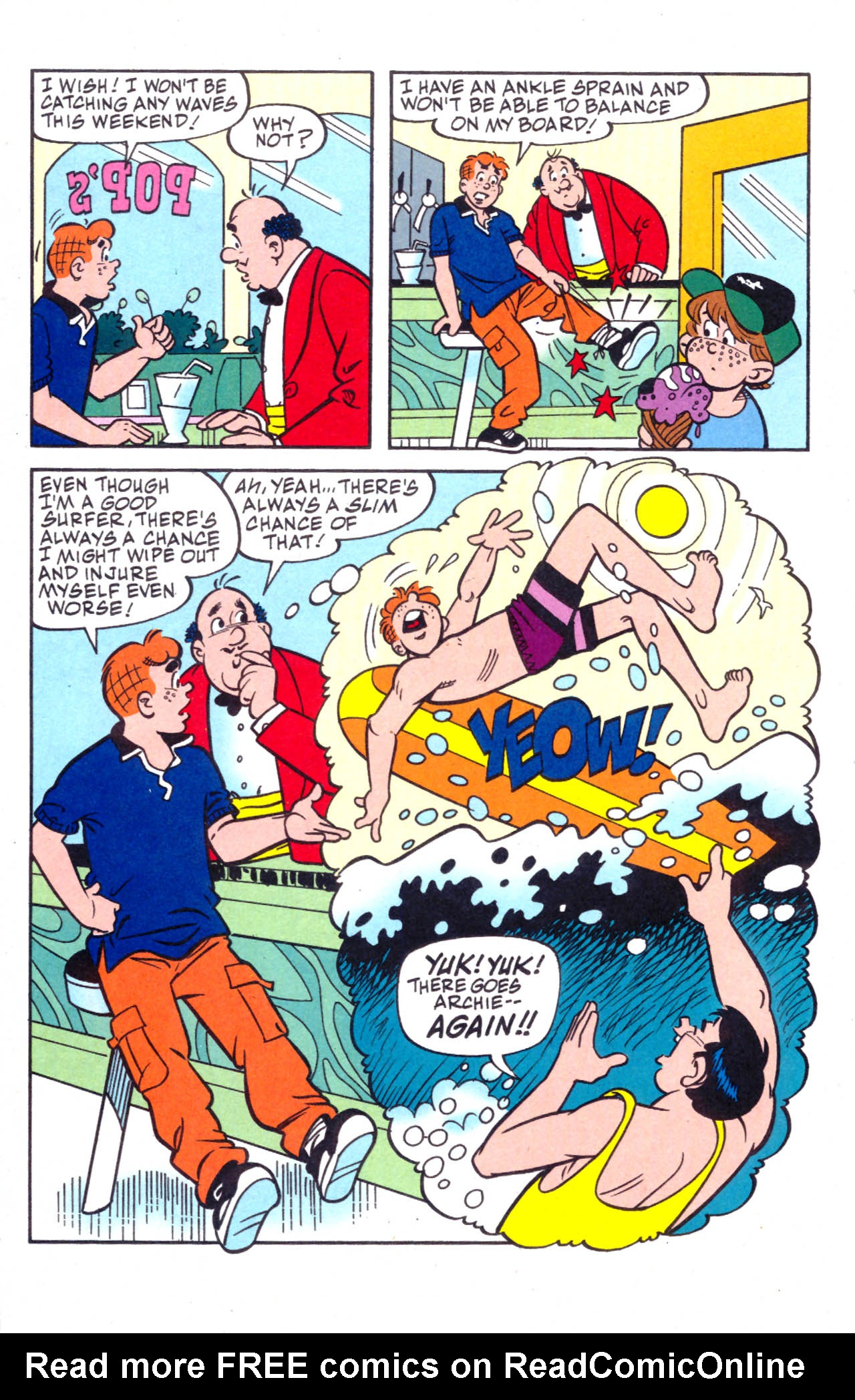 Read online Archie (1960) comic -  Issue #576 - 9