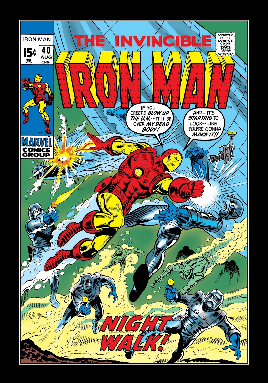 Read online Marvel Masterworks: The Invincible Iron Man comic -  Issue # TPB 8 (Part 1) - 27