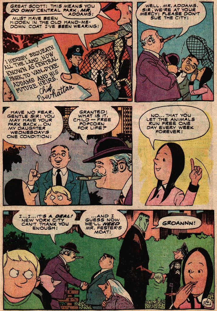 Read online Addams Family comic -  Issue #2 - 19