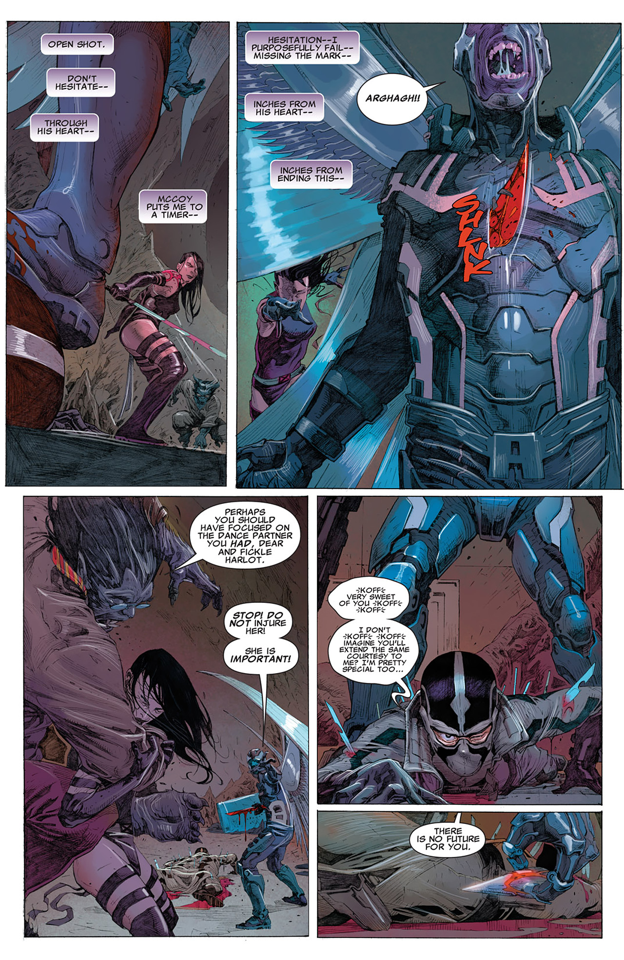 Read online Uncanny X-Force (2010) comic -  Issue #14 - 12