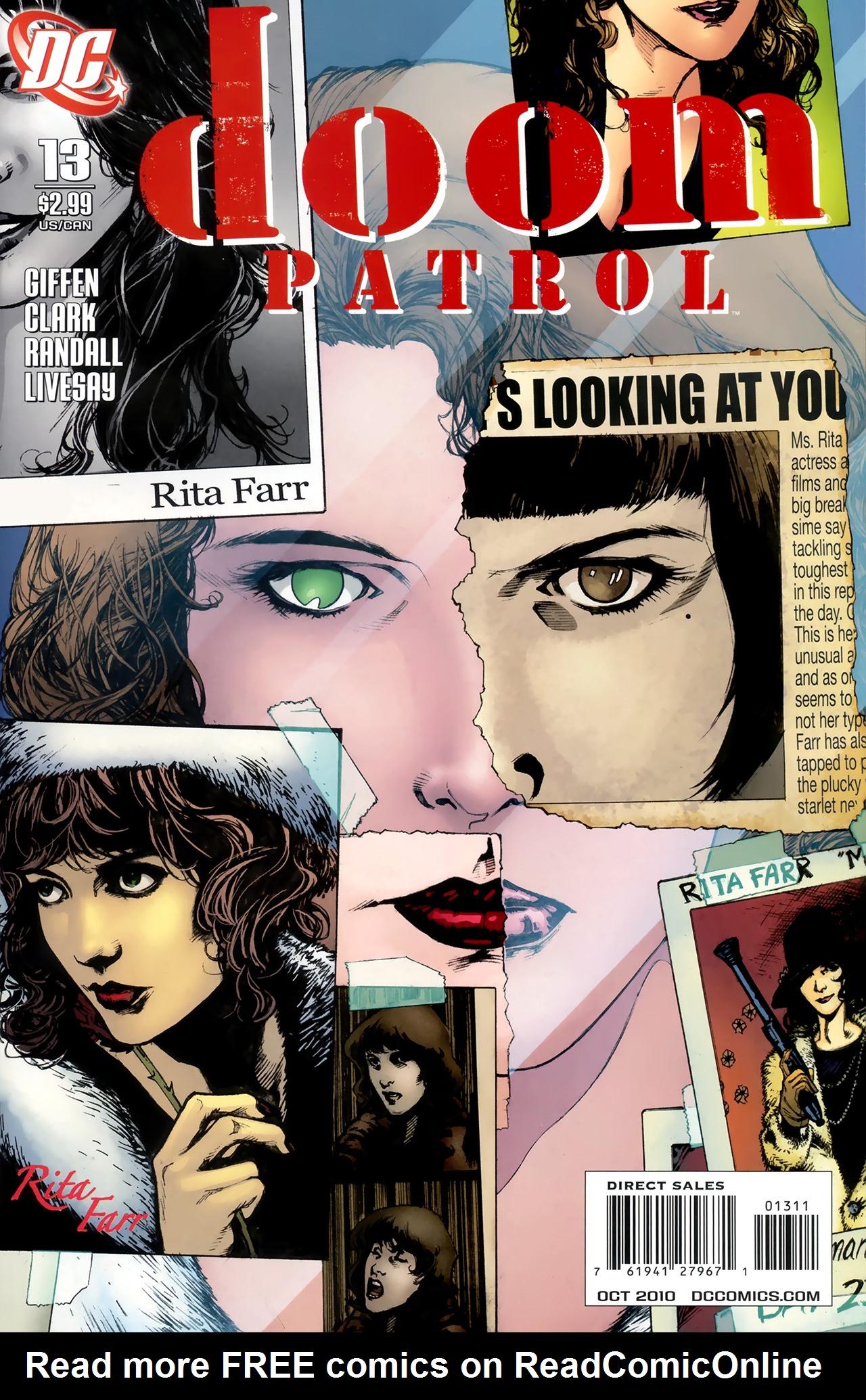 Doom Patrol (2009) 13 Page 1