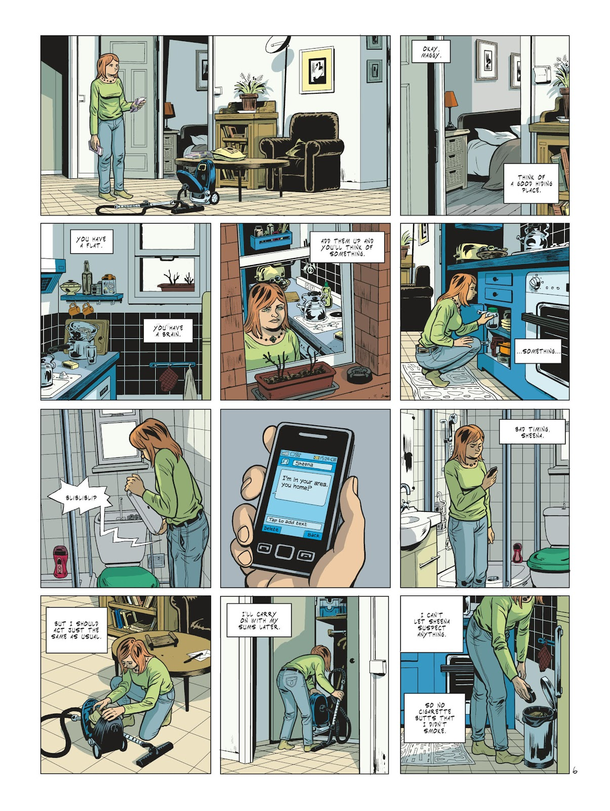 Read online Maggy Garrisson comic -  Issue #2 - 8
