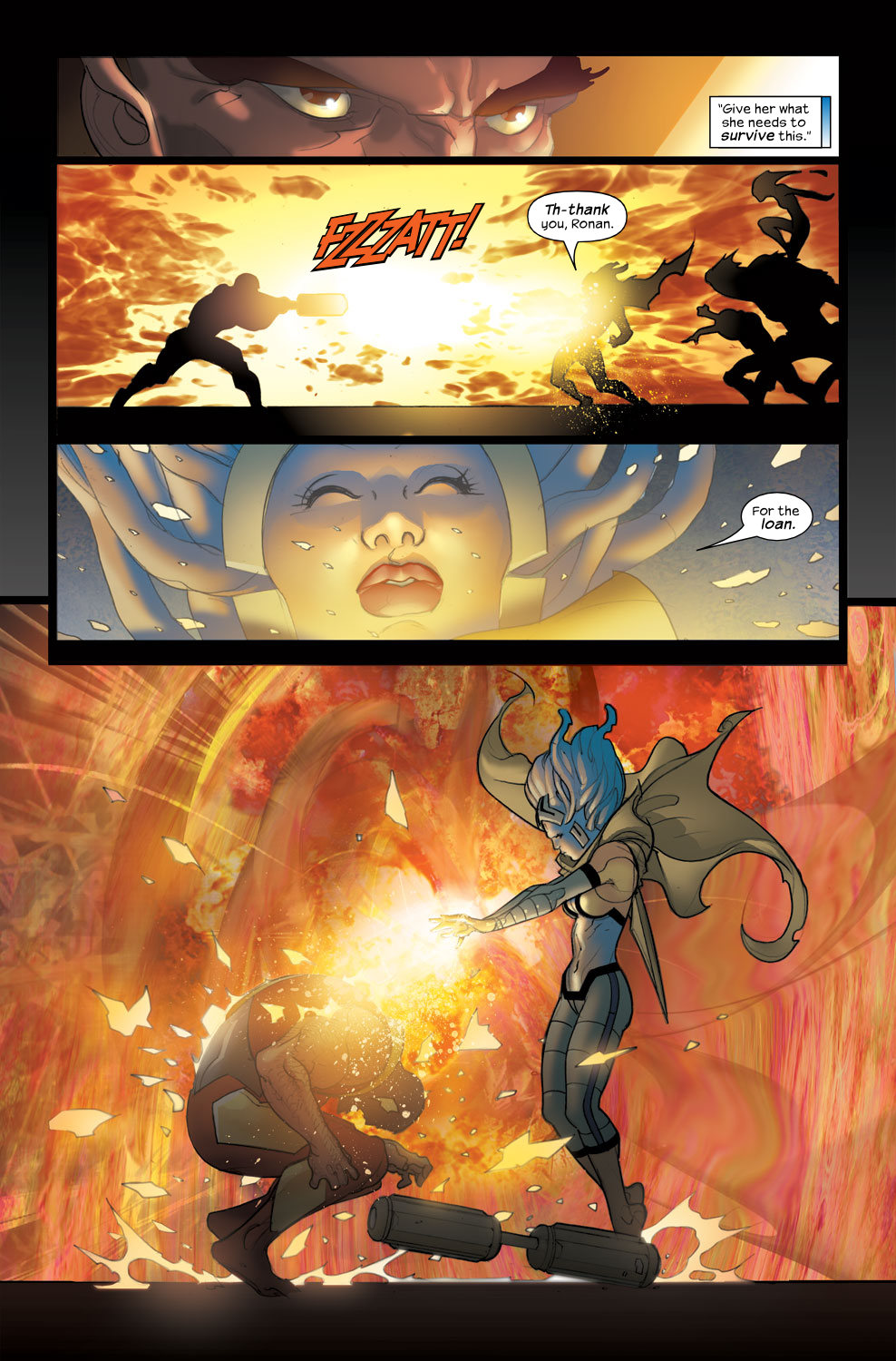 Read online Ultimate Fantastic Four (2004) comic -  Issue #38 - 18