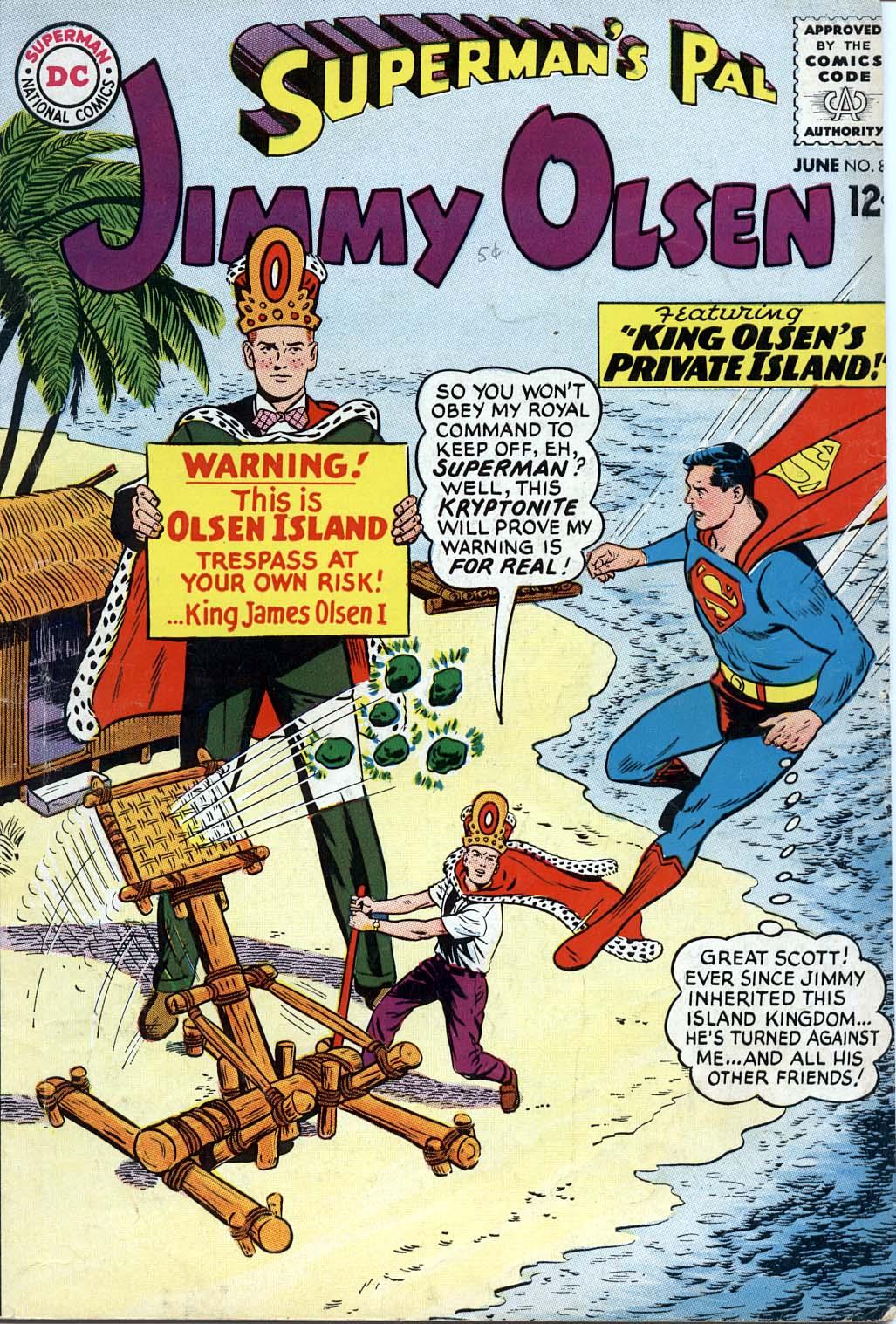 Supermans Pal Jimmy Olsen (1954) 85 Page 1