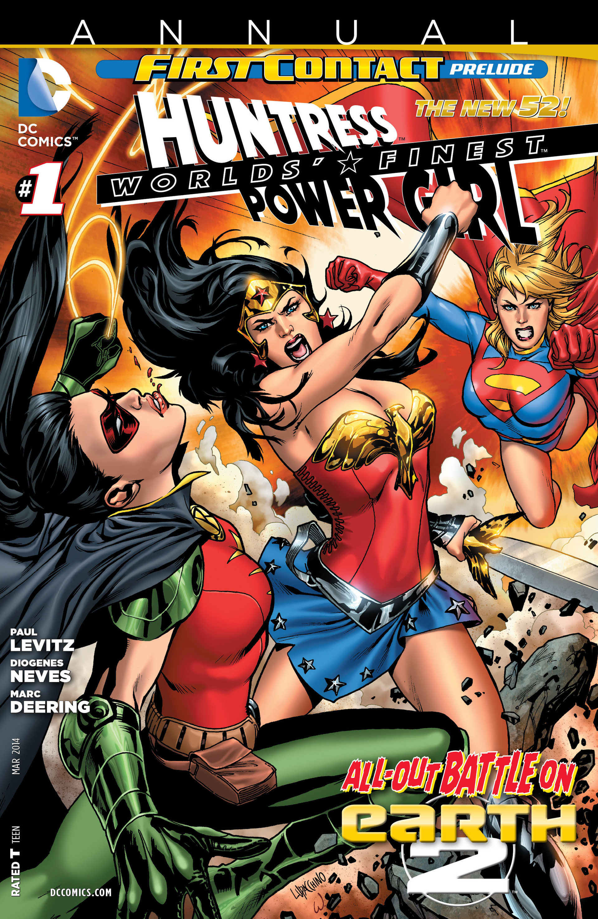 Read online Worlds' Finest comic -  Issue # _Annual 1 - 1