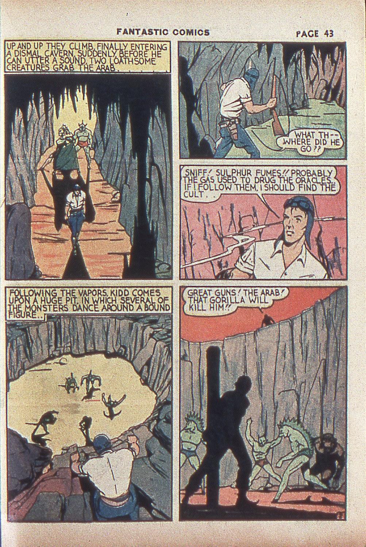 Read online Fantastic Comics comic -  Issue #4 - 44
