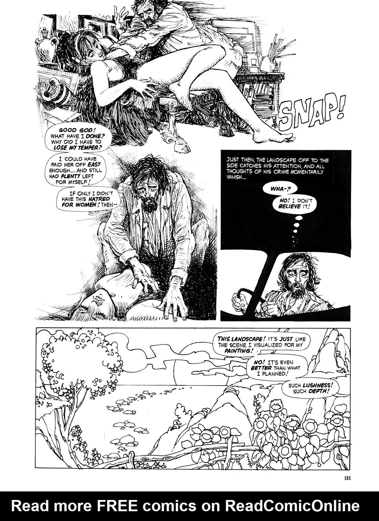 Read online Eerie Archives comic -  Issue # TPB 9 - 186