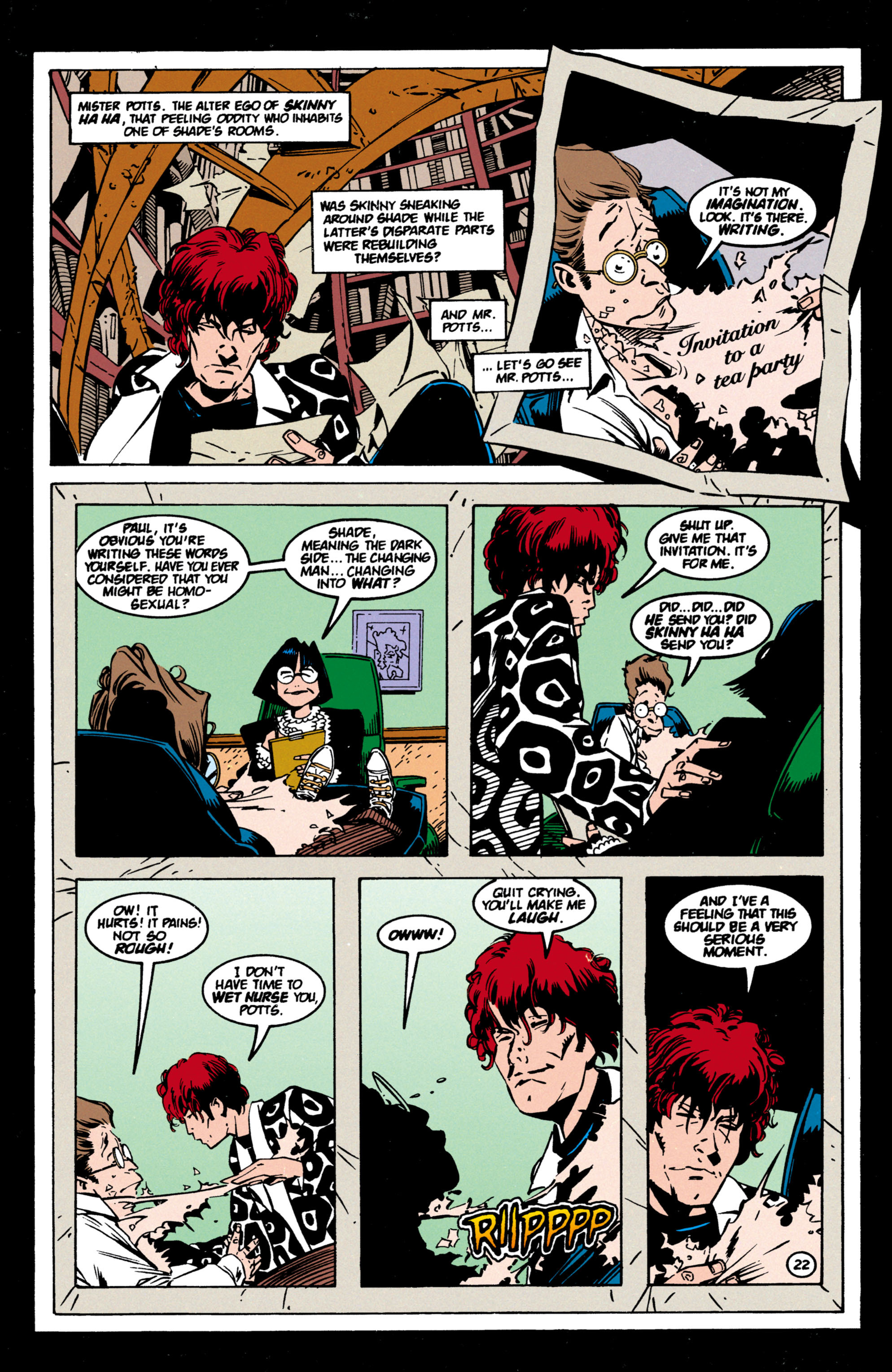 Read online Shade, the Changing Man comic -  Issue #60 - 23