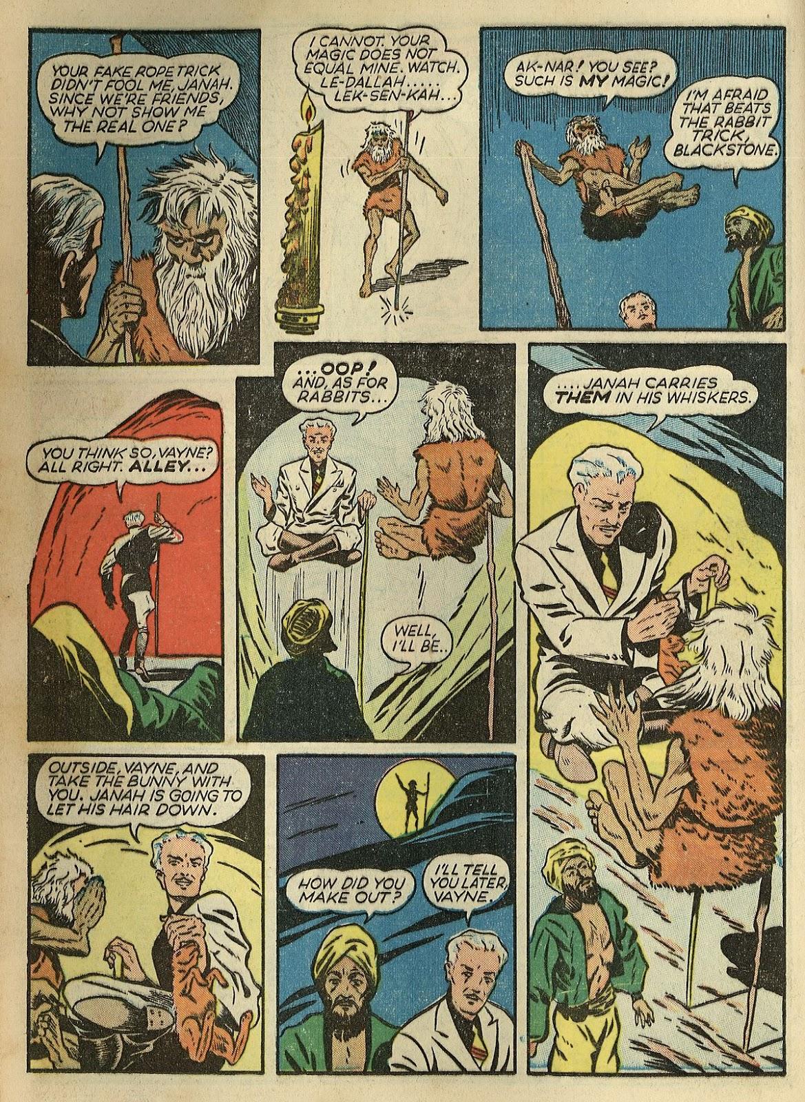 Read online Super-Magician Comics comic -  Issue #1 - 20