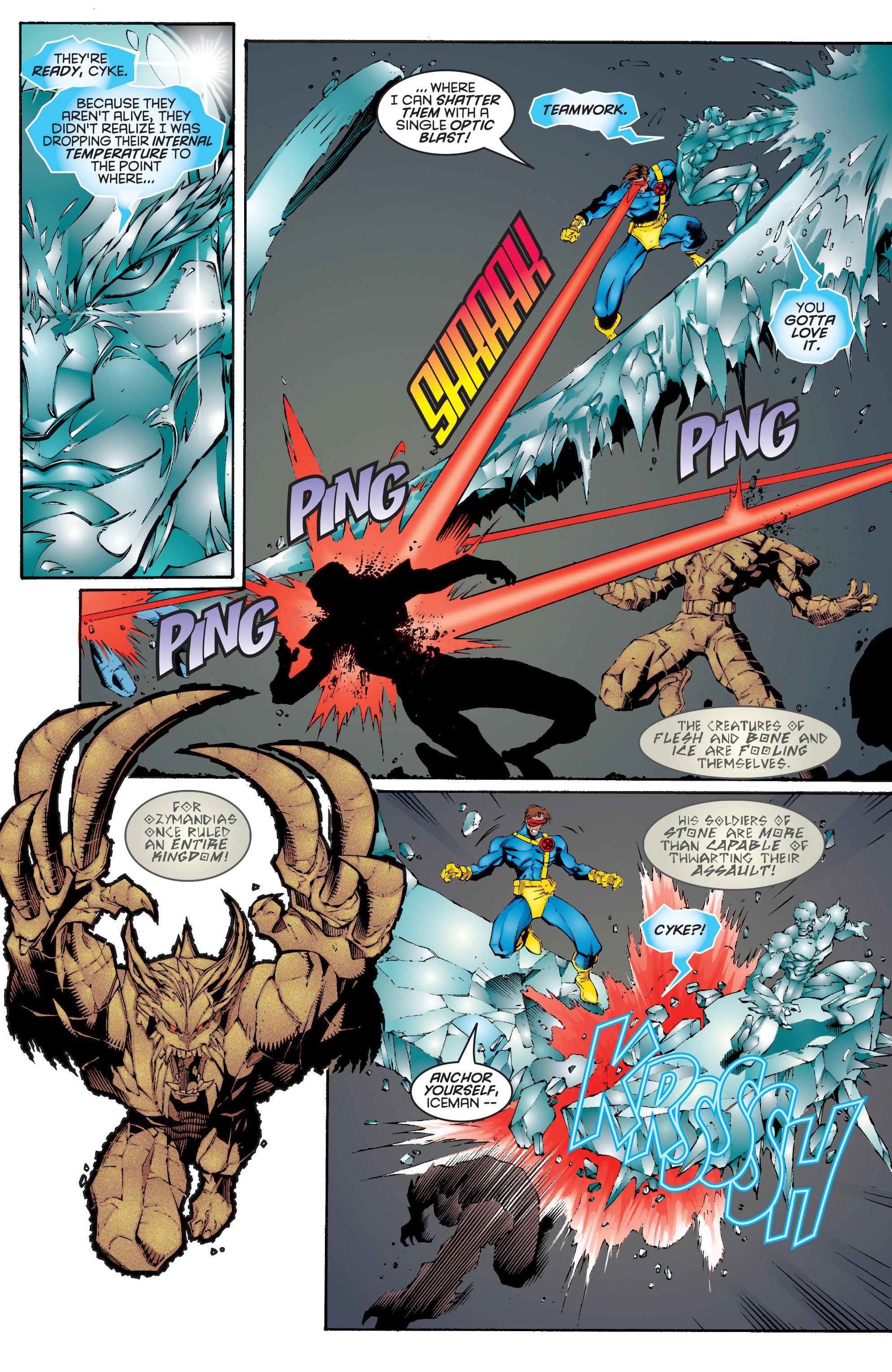 Read online Uncanny X-Men (1963) comic -  Issue #332 - 17