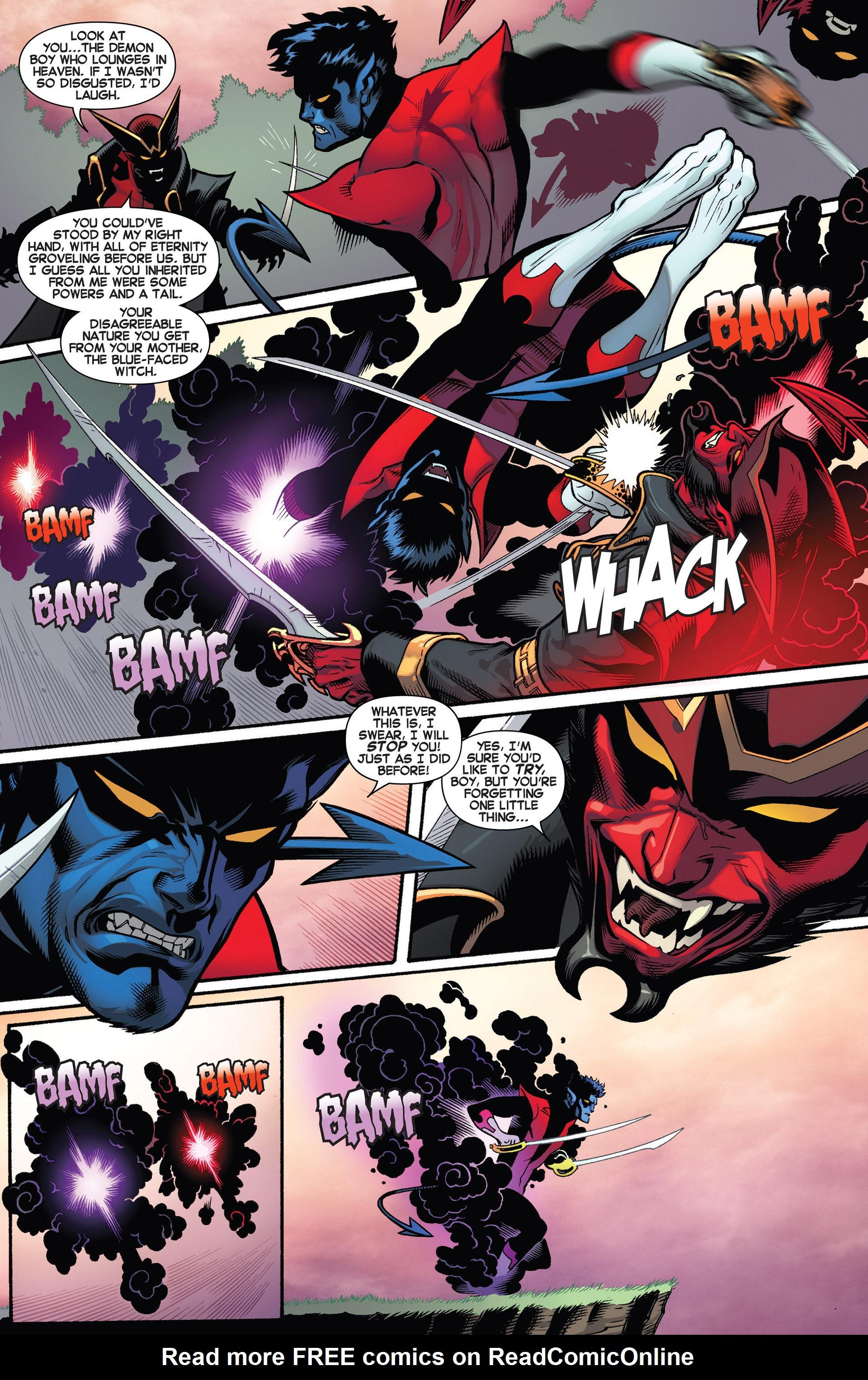 Read online Amazing X-Men (2014) comic -  Issue #1 - 12