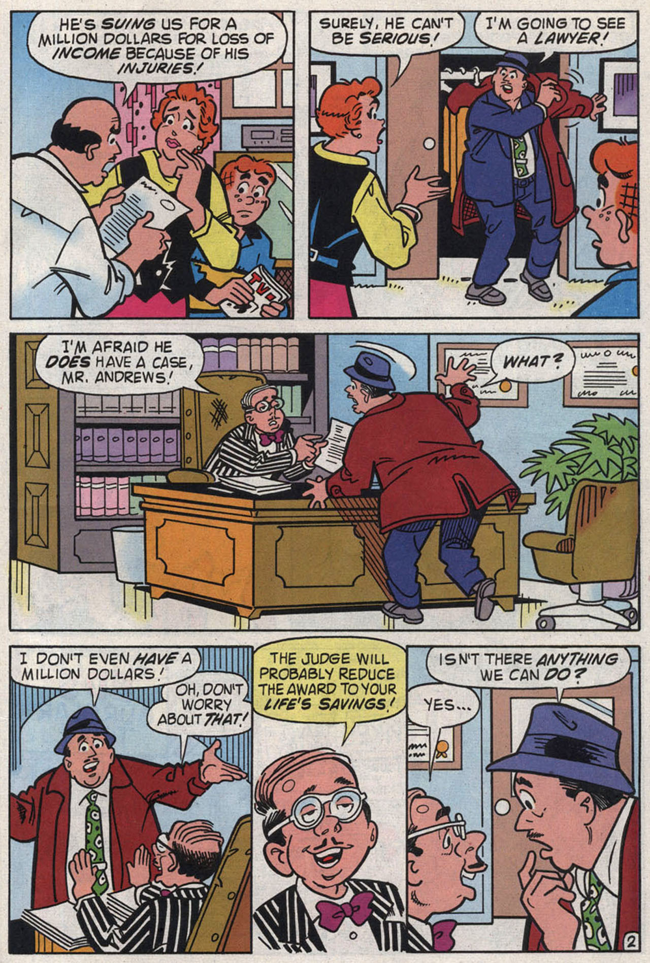 Read online Archie (1960) comic -  Issue #446 - 29