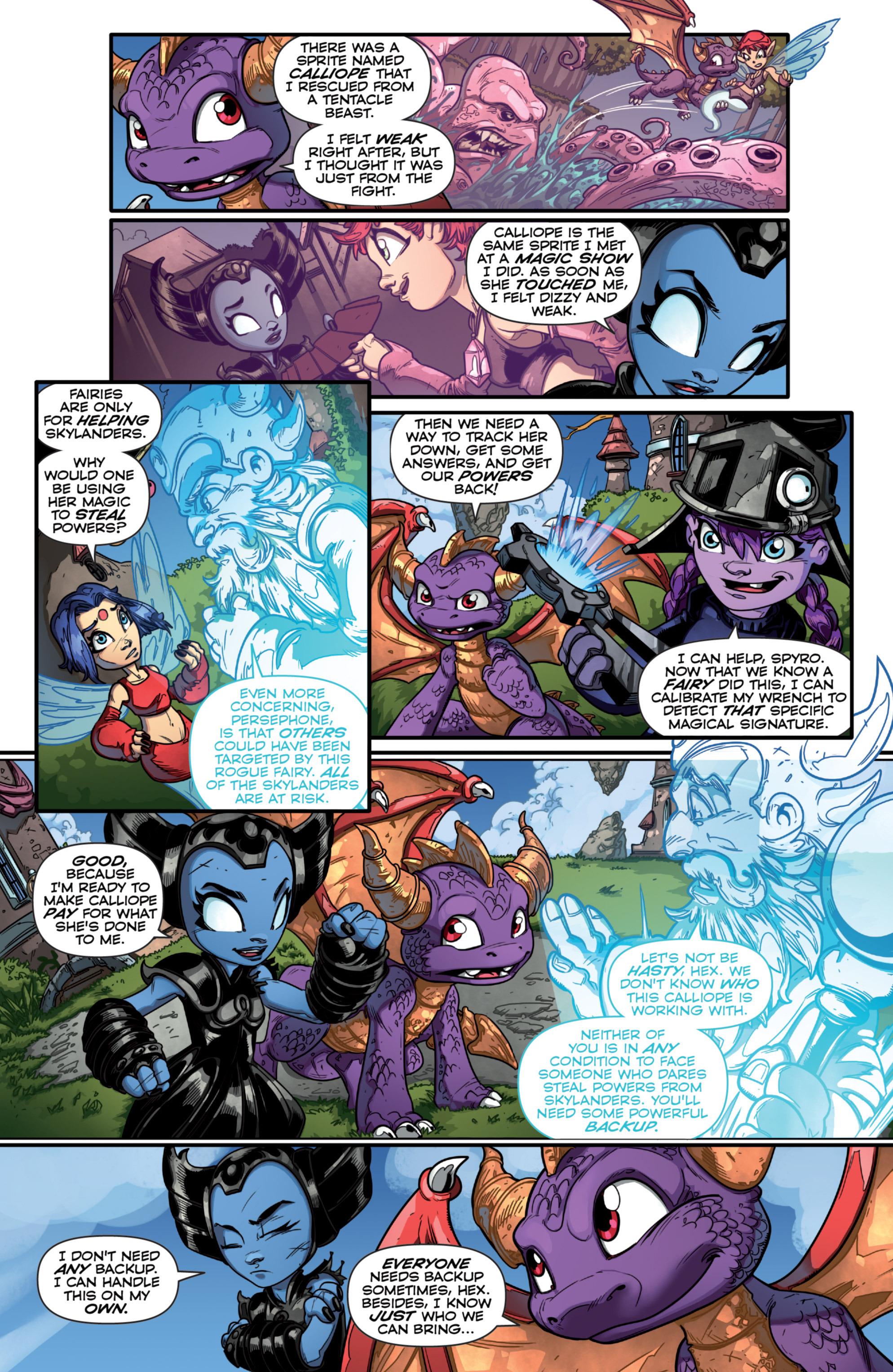 Read online Skylanders comic -  Issue #7 - 11