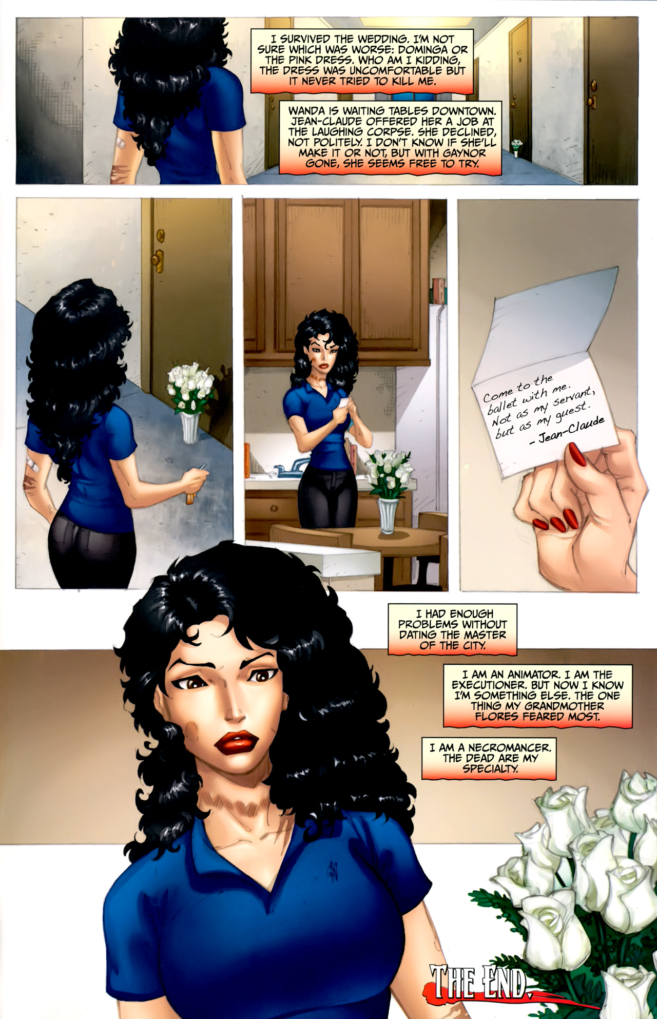 Read online Anita Blake: The Laughing Corpse - Executioner comic -  Issue #5 - 32
