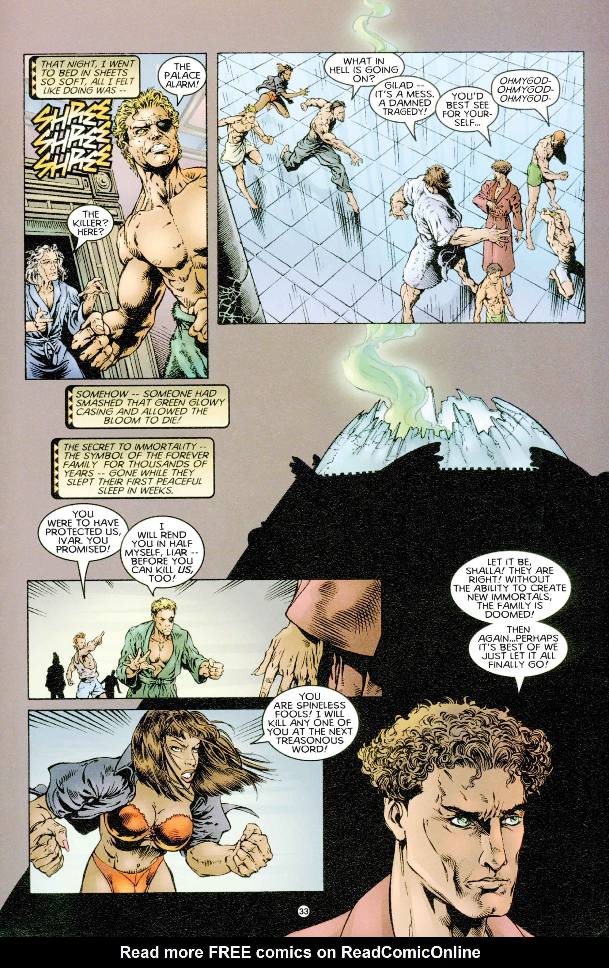 Read online Eternal Warriors comic -  Issue # Issue Time & Treachery - 32