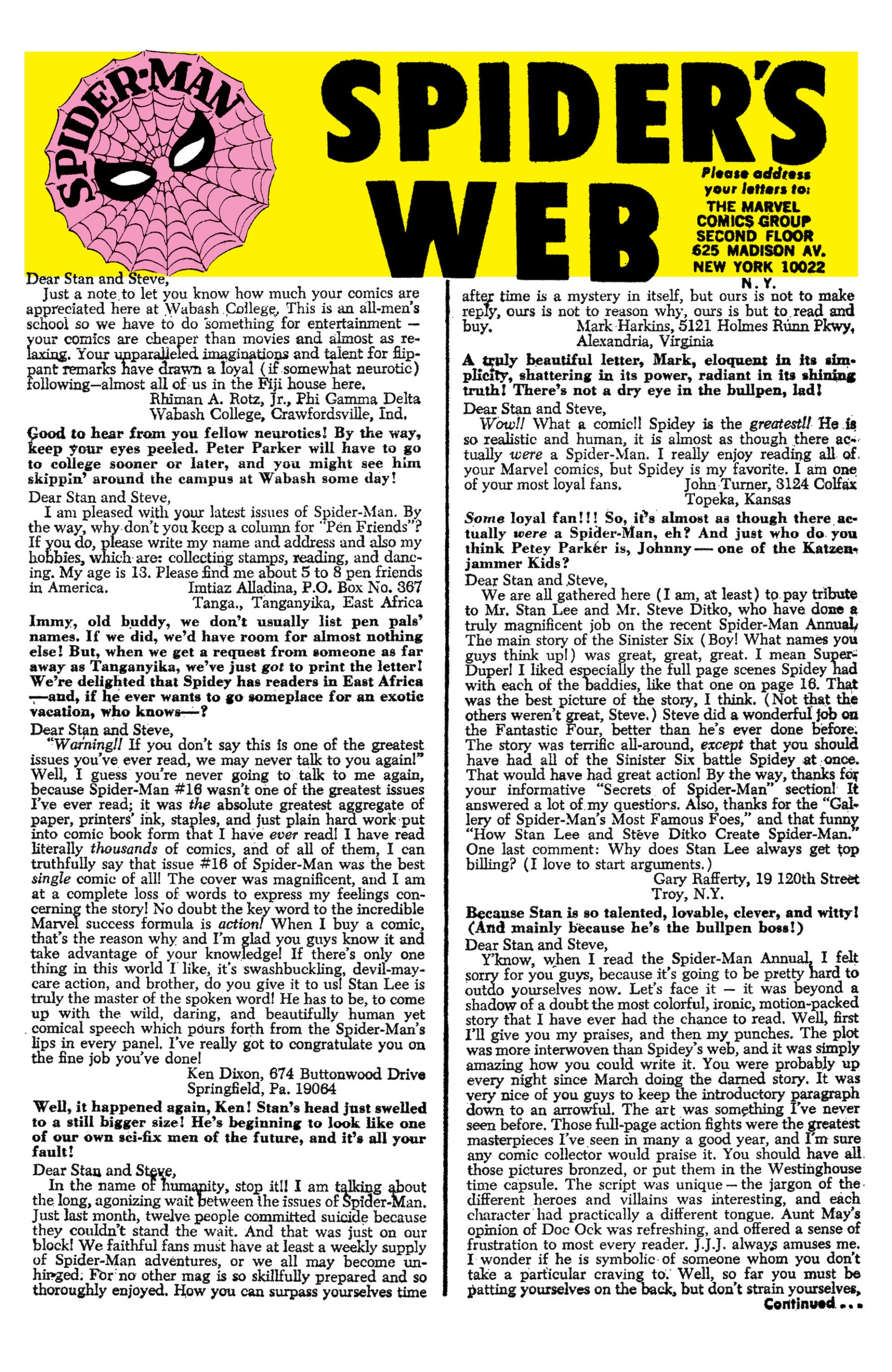 The Amazing Spider-Man (1963) 20 Page 22