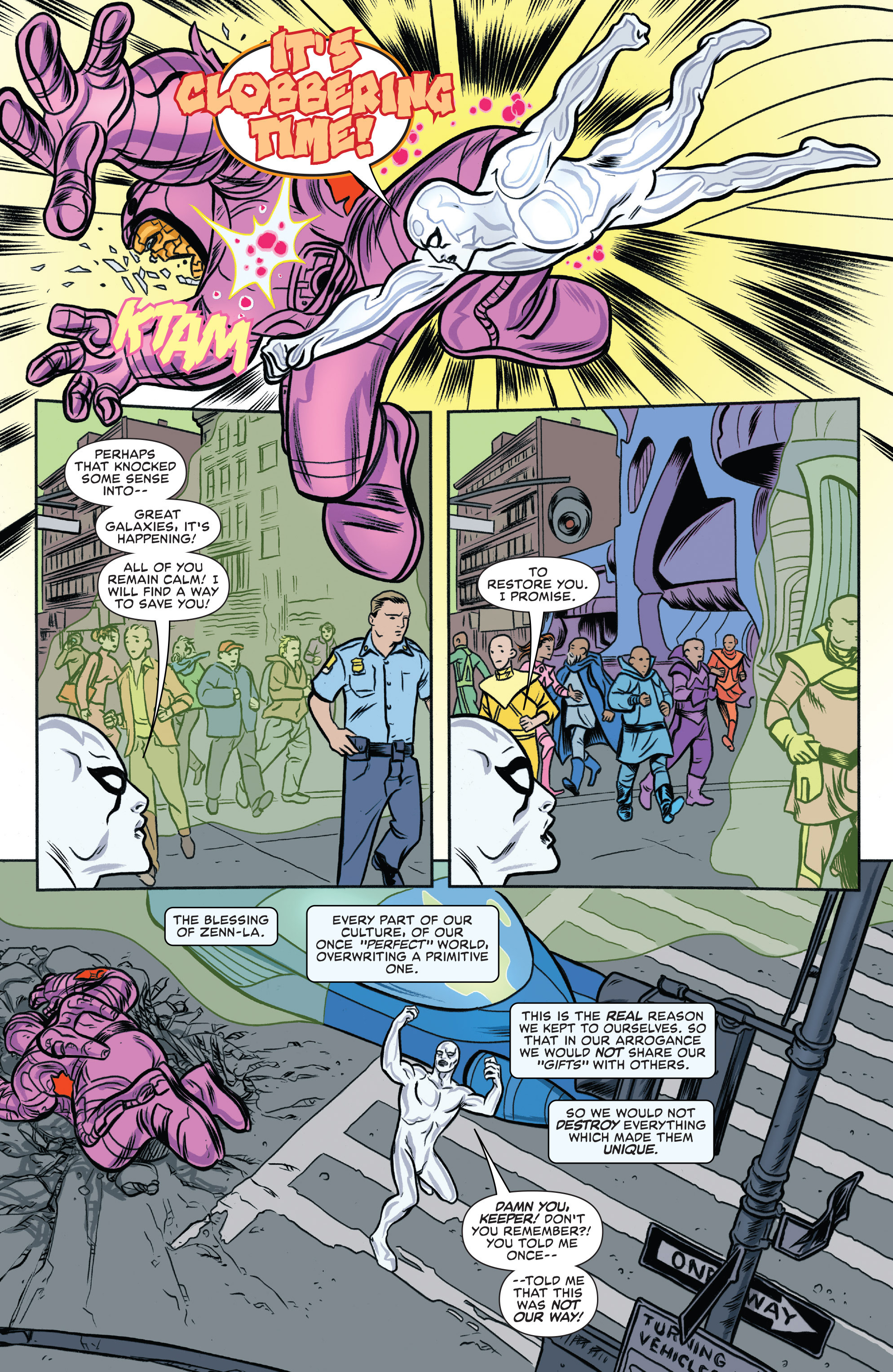 Read online Silver Surfer (2016) comic -  Issue #2 - 19
