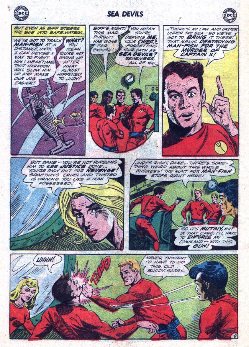 Read online Sea Devils comic -  Issue #24 - 25