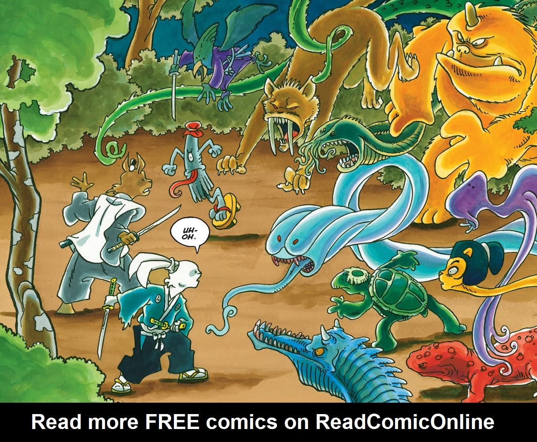 Read online Usagi Yojimbo: Yokai comic -  Issue # Full - 25
