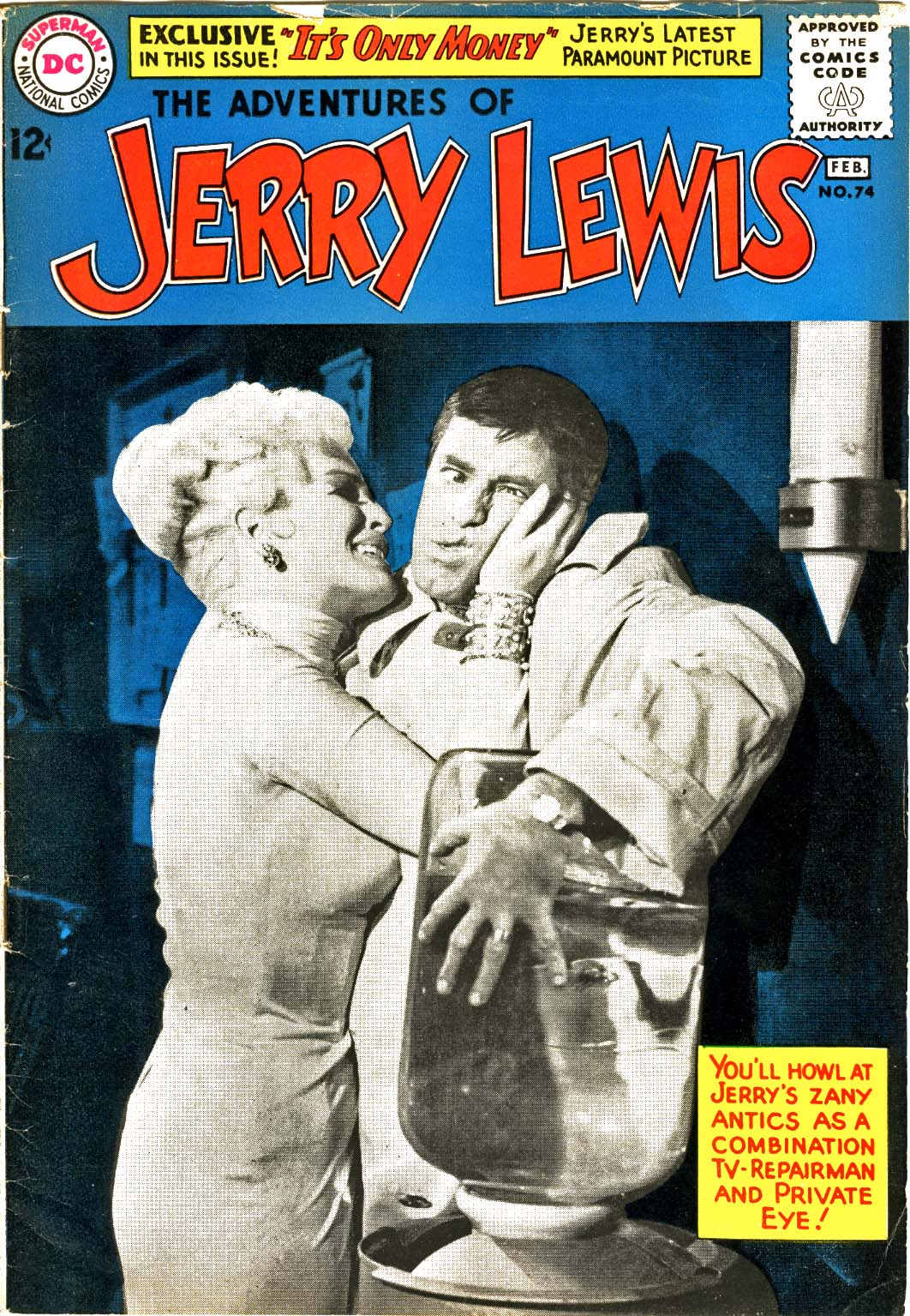 The Adventures of Jerry Lewis 74 Page 1