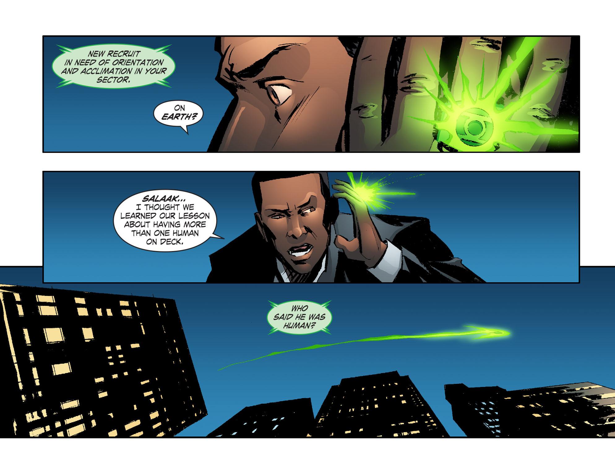 Read online Smallville: Lantern [I] comic -  Issue #2 - 10