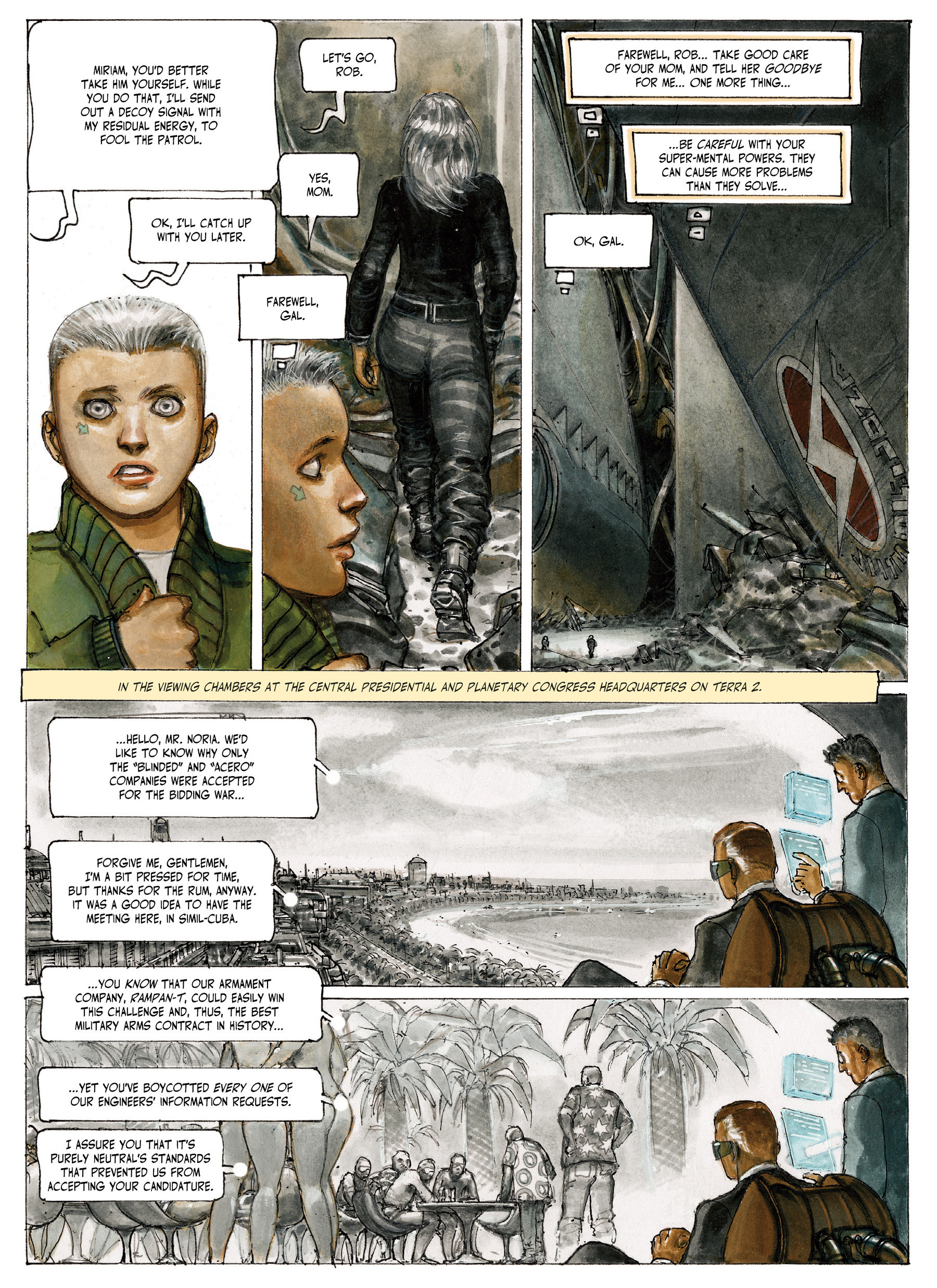 Read online The Fourth Power comic -  Issue #4 - 56