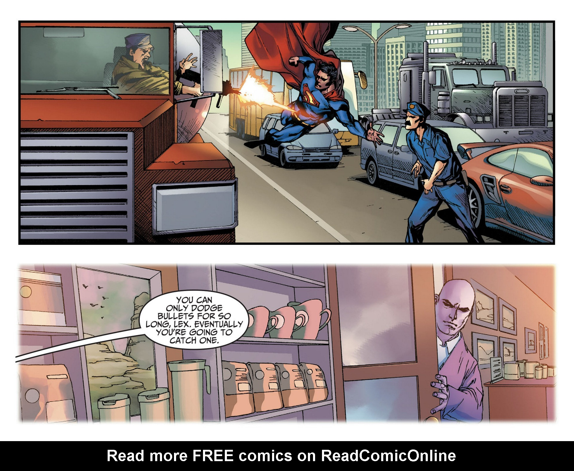 Read online Adventures of Superman [I] comic -  Issue #9 - 16