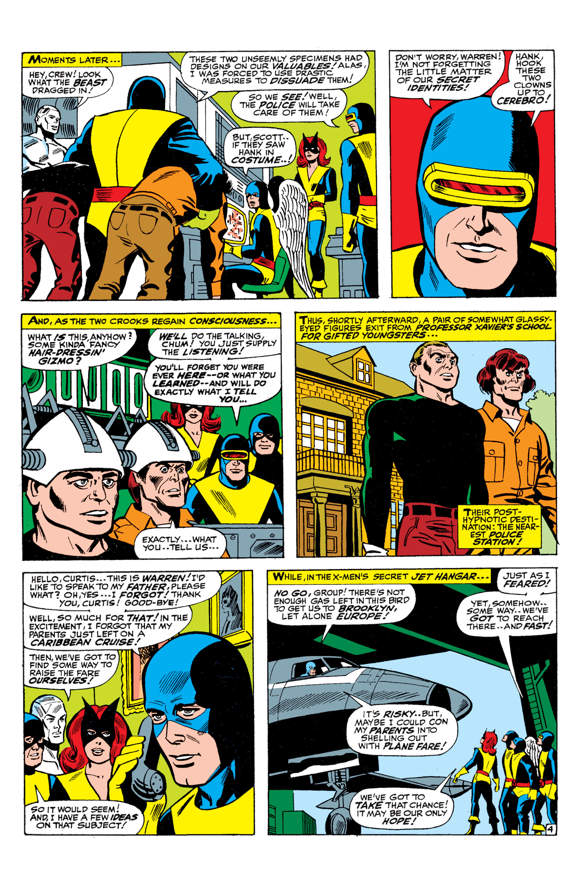 Read online Uncanny X-Men (1963) comic -  Issue #36 - 5