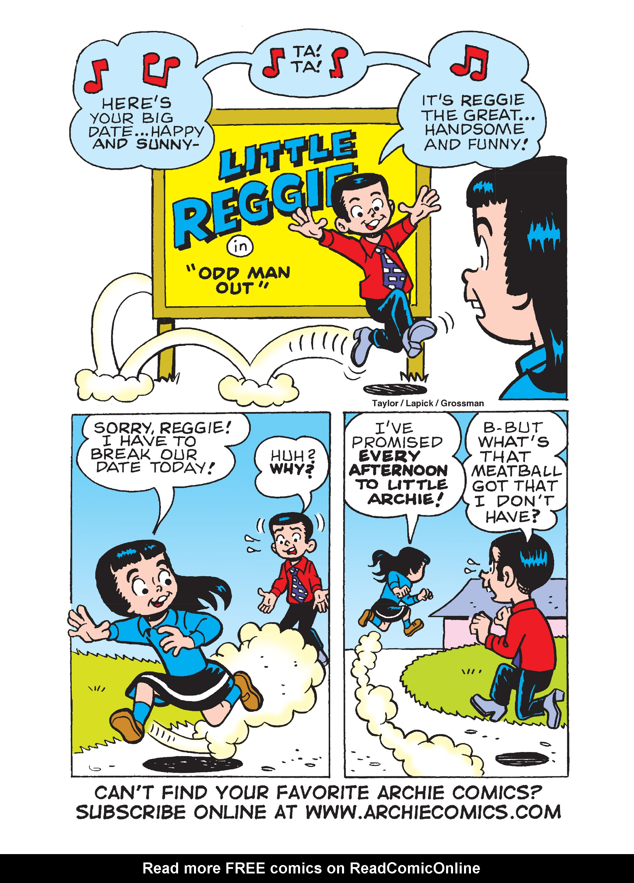 Read online Archie's Funhouse Double Digest comic -  Issue #8 - 134