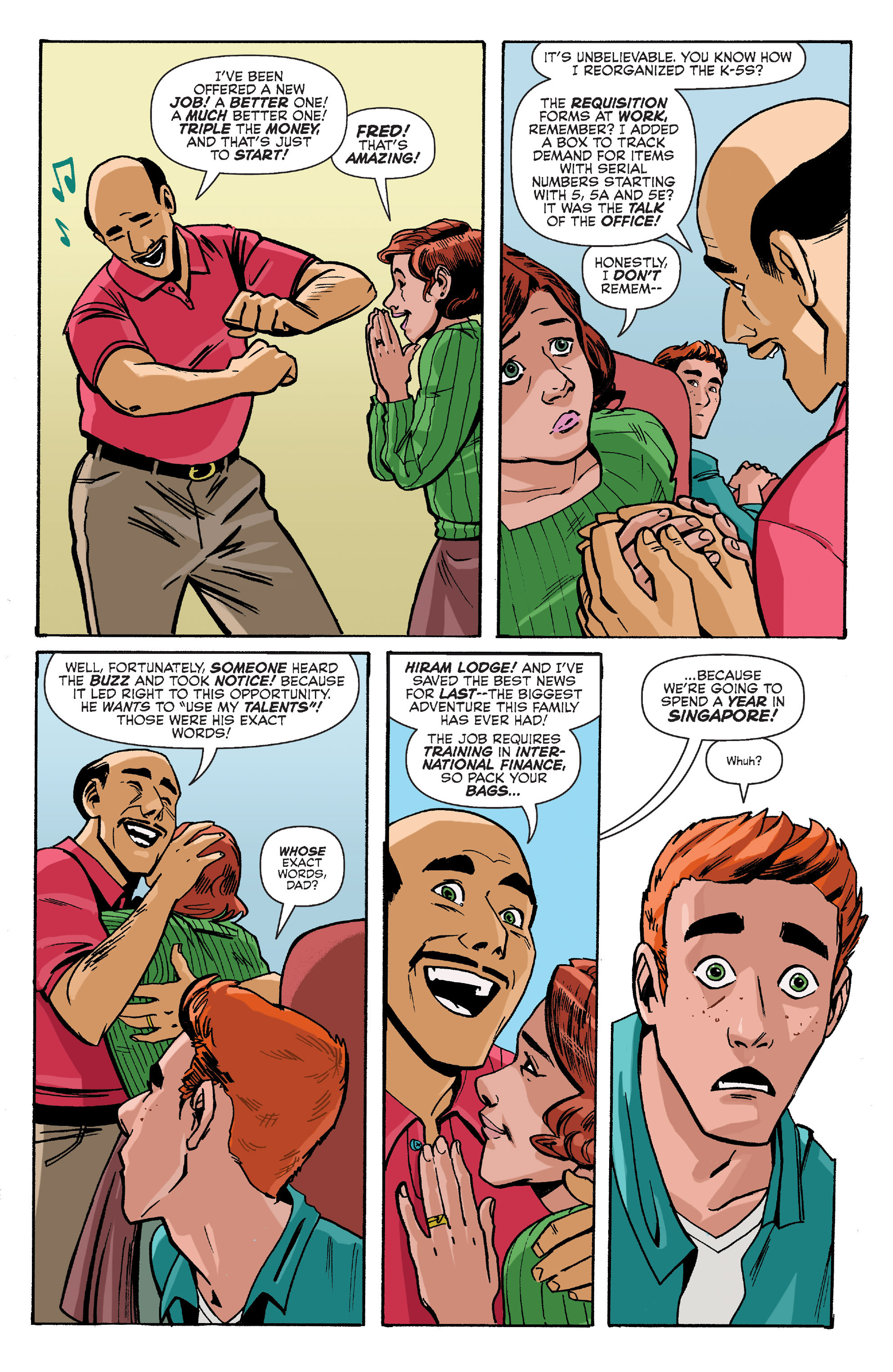 Read online Archie (2015) comic -  Issue #8 - 14