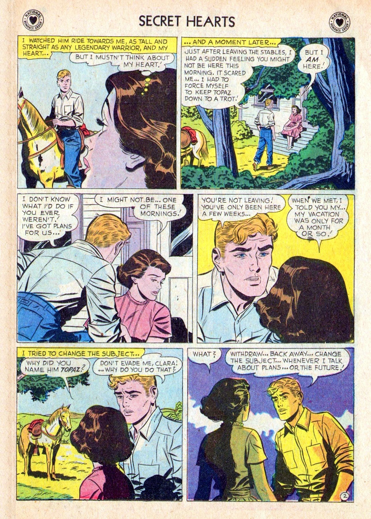 Read online Secret Hearts comic -  Issue #53 - 11