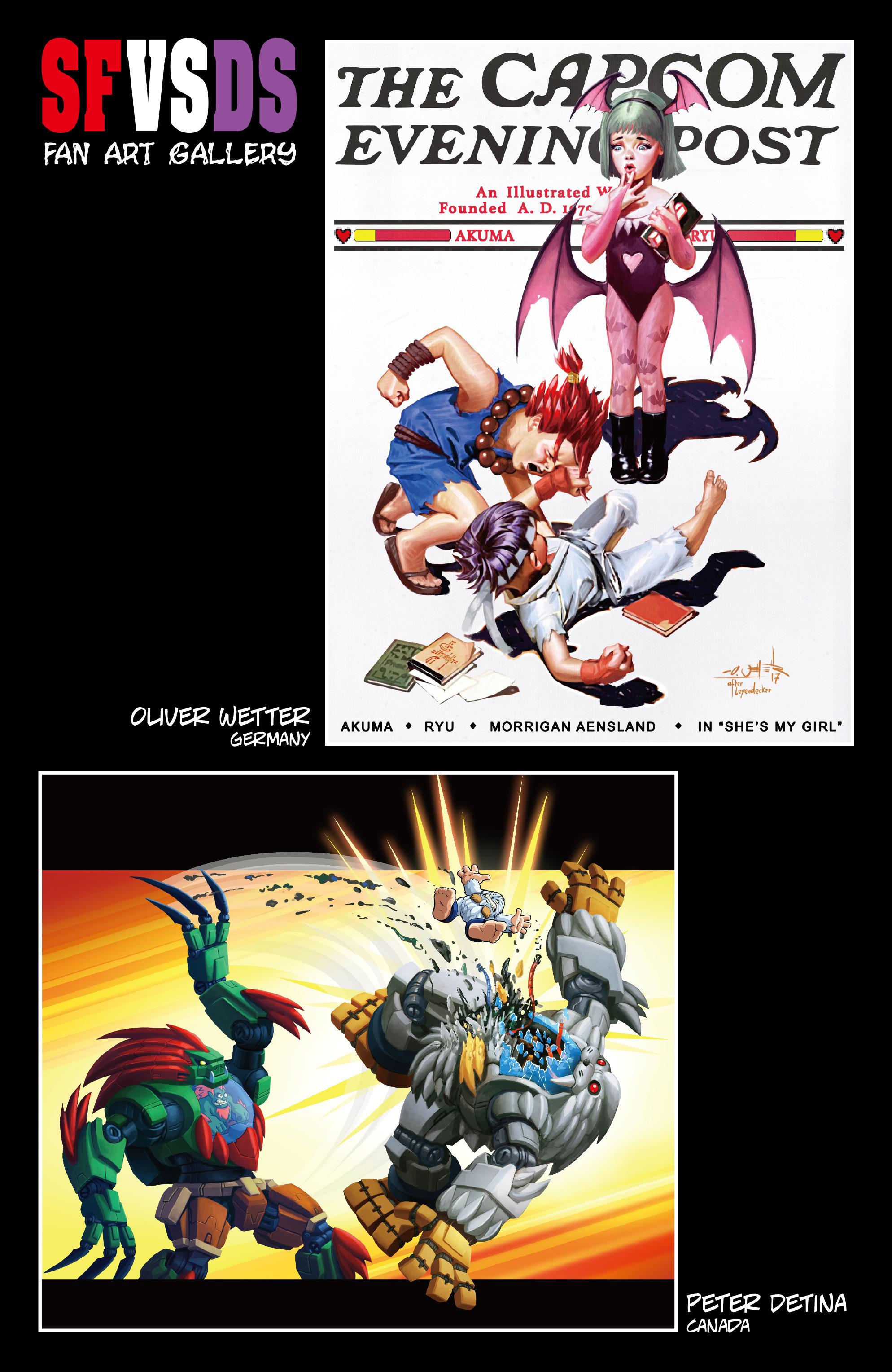Read online Street Fighter VS Darkstalkers comic -  Issue #1 - 27
