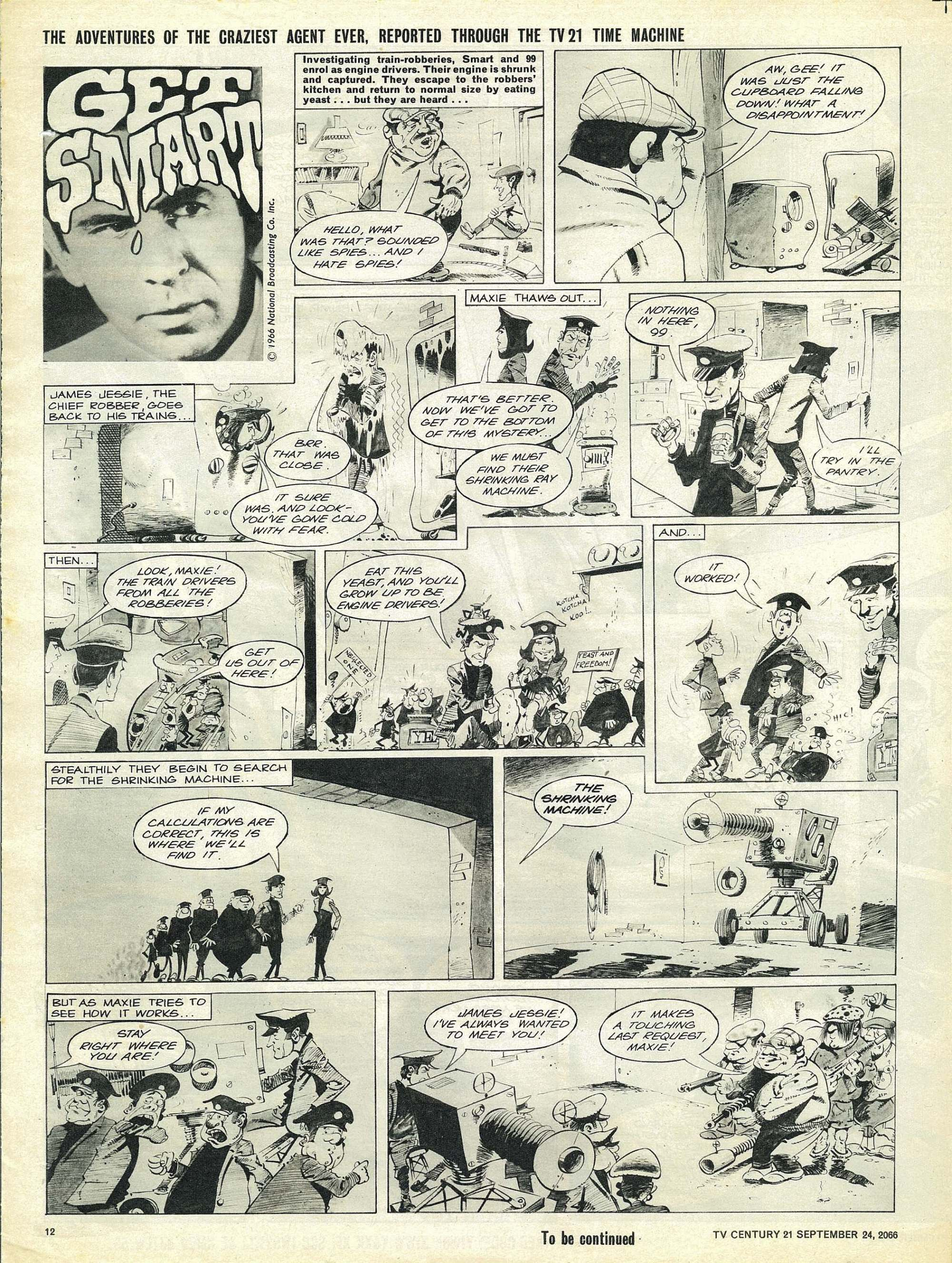 Read online TV Century 21 (TV 21) comic -  Issue #88 - 11