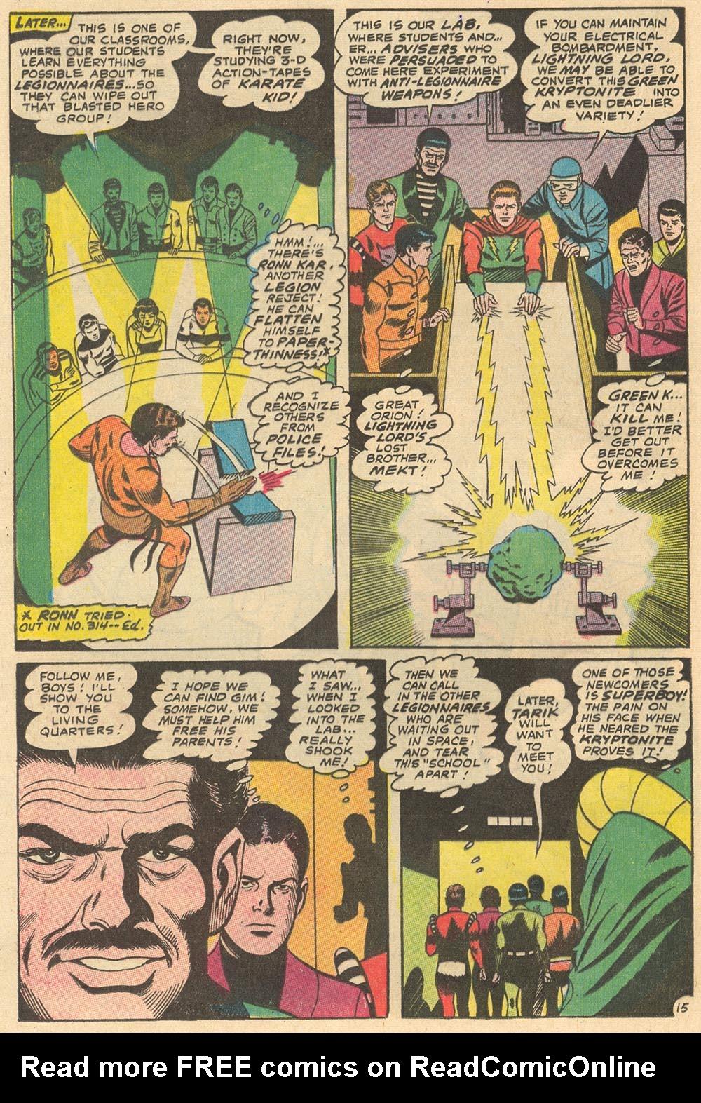Read online Adventure Comics (1938) comic -  Issue #372 - 19