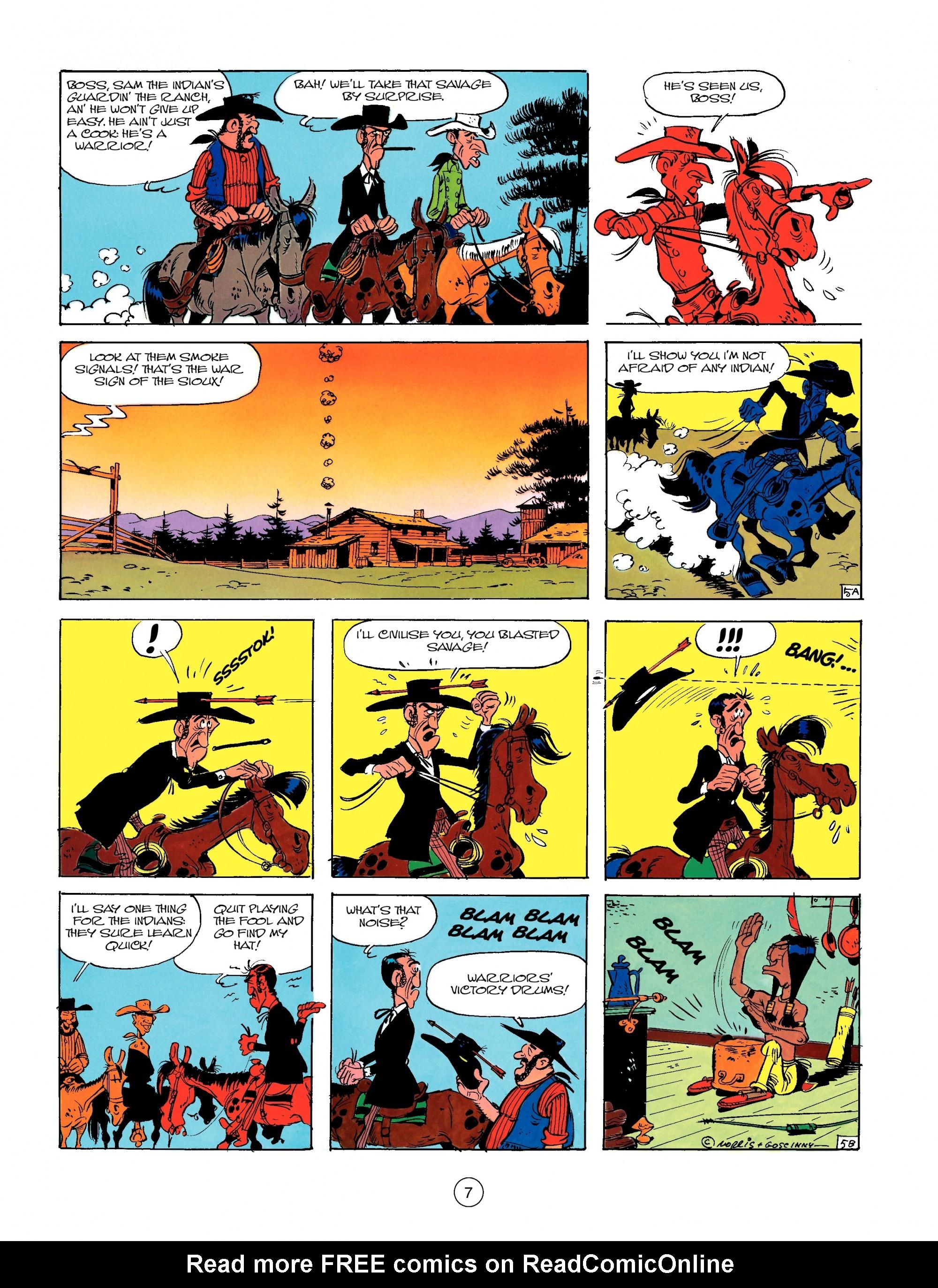 Read online A Lucky Luke Adventure comic -  Issue #13 - 7