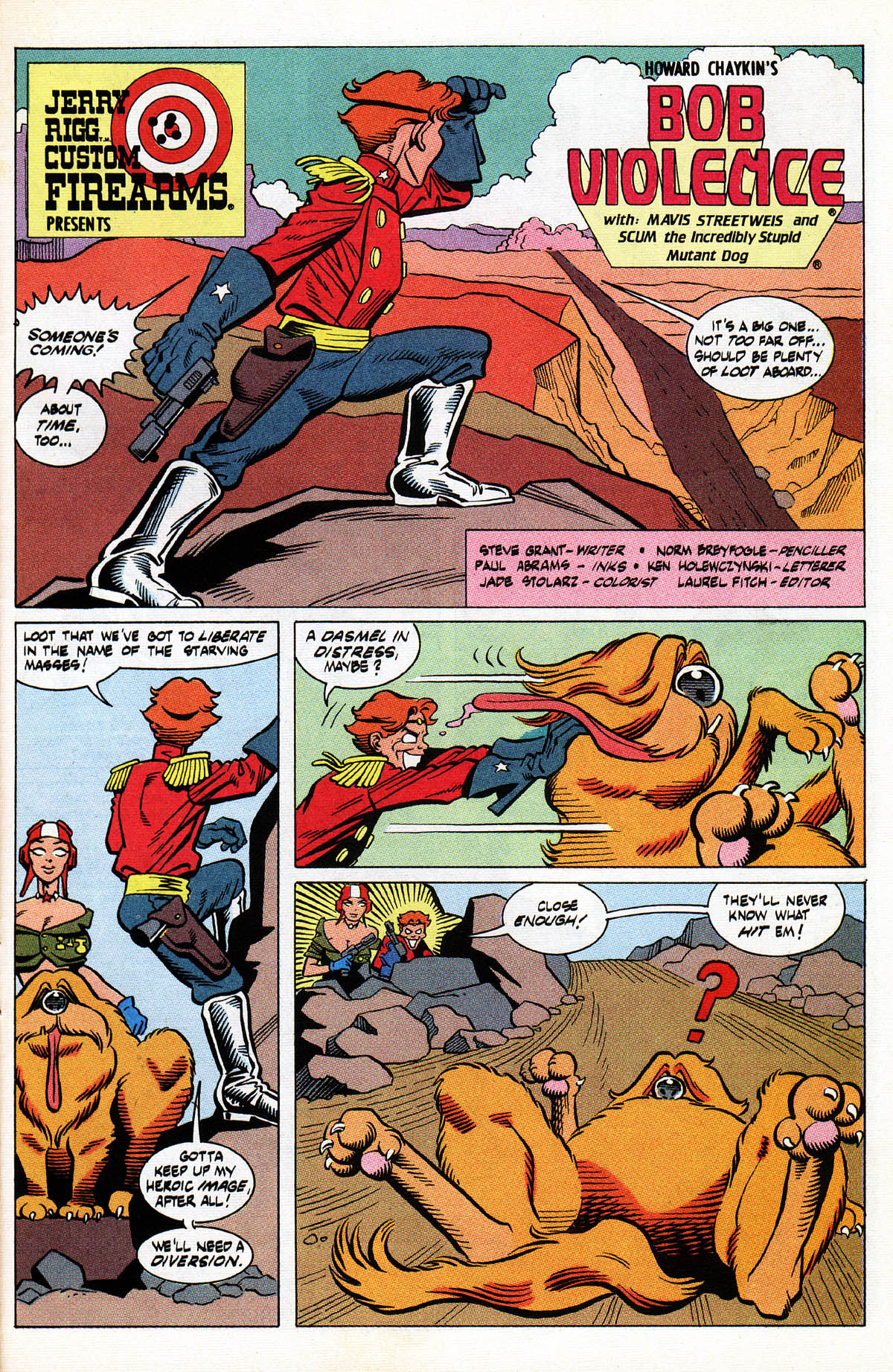 Read online American Flagg! comic -  Issue #38 - 27