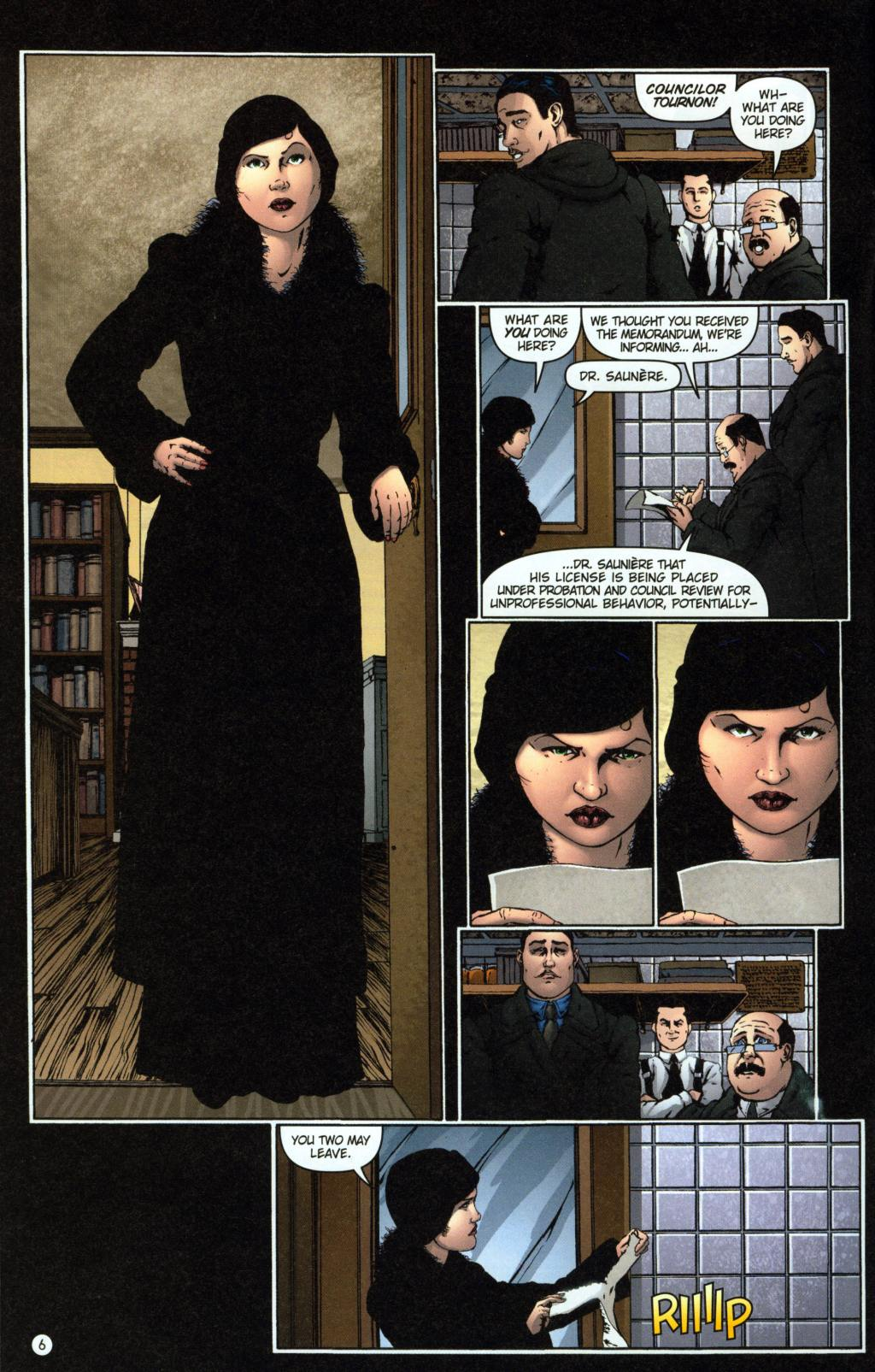 Read online Rex Mundi comic -  Issue #7 - 10
