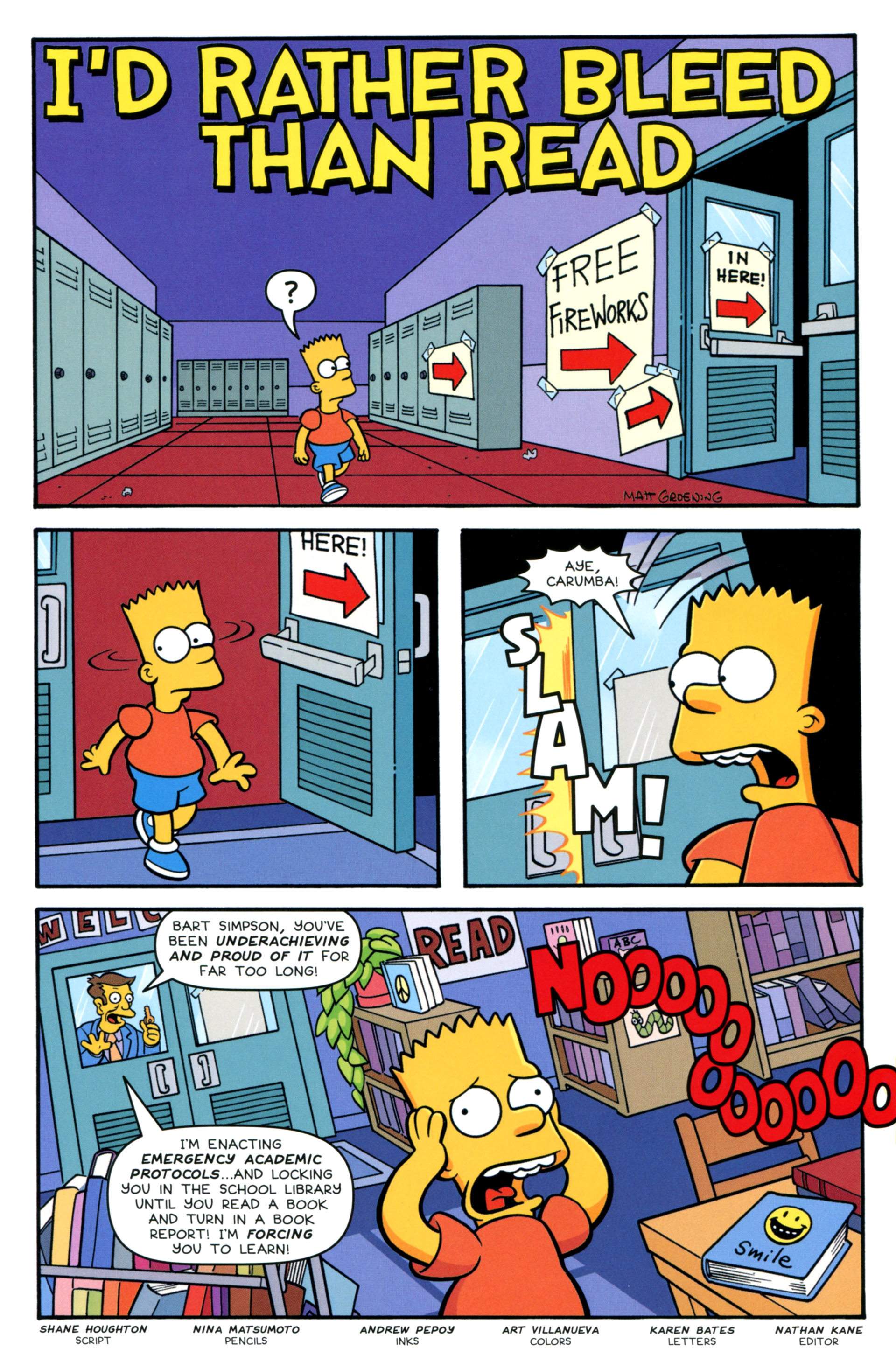 Read online Simpsons Comics Presents Bart Simpson comic -  Issue #83 - 17