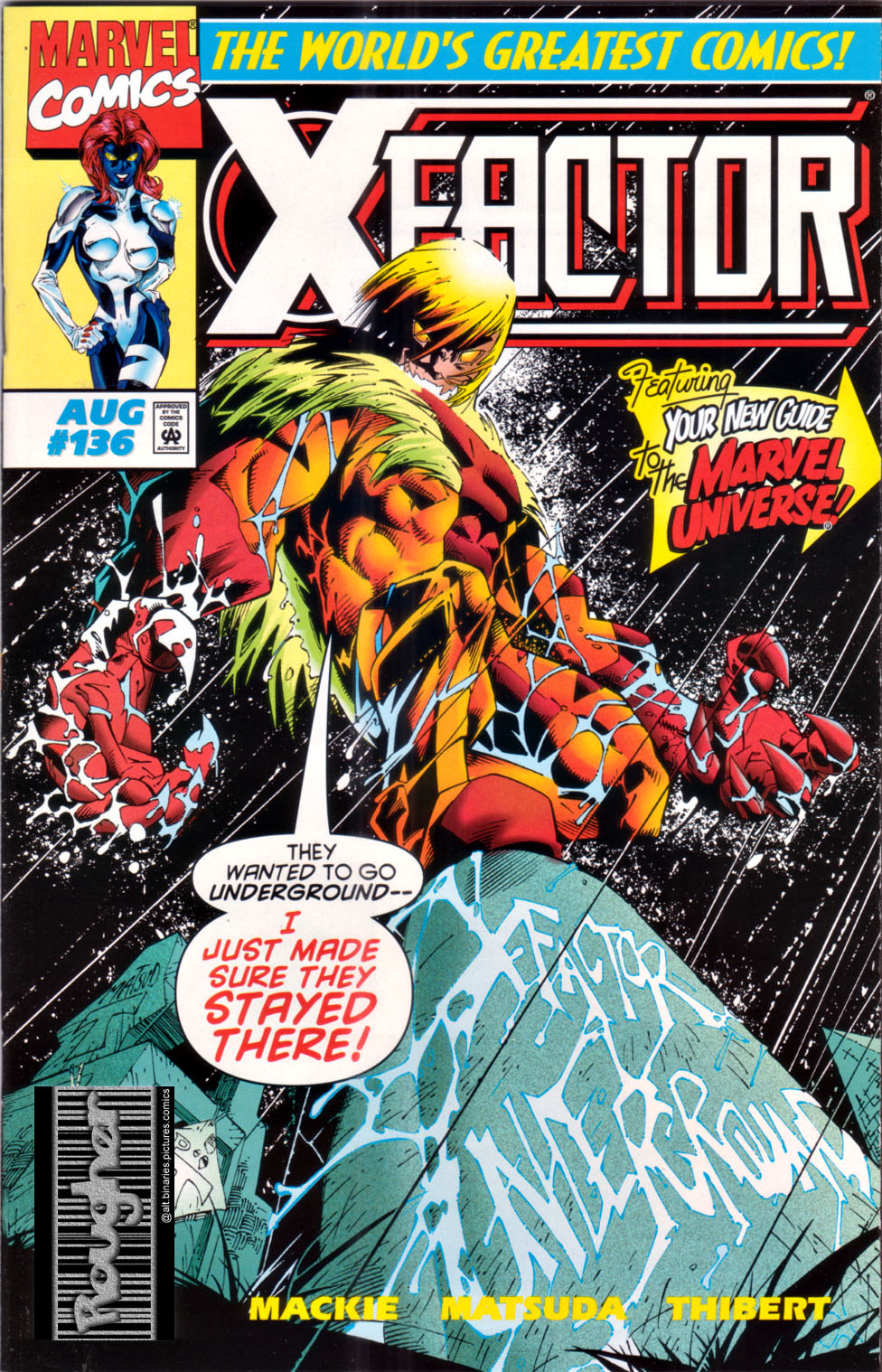 Read online X-Factor (1986) comic -  Issue #136 - 1