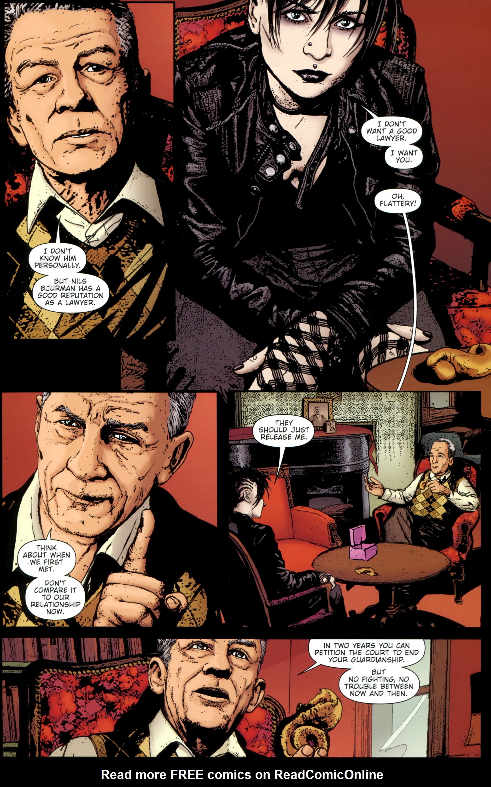 Read online The Girl With the Dragon Tattoo comic -  Issue # TPB 1 - 84