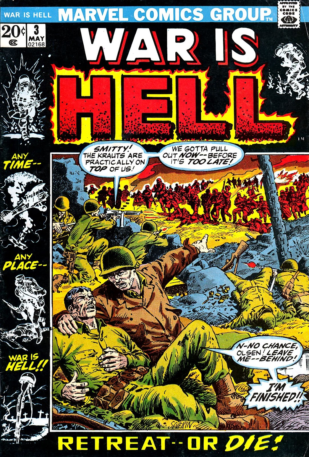 War Is Hell (1973) issue 3 - Page 1