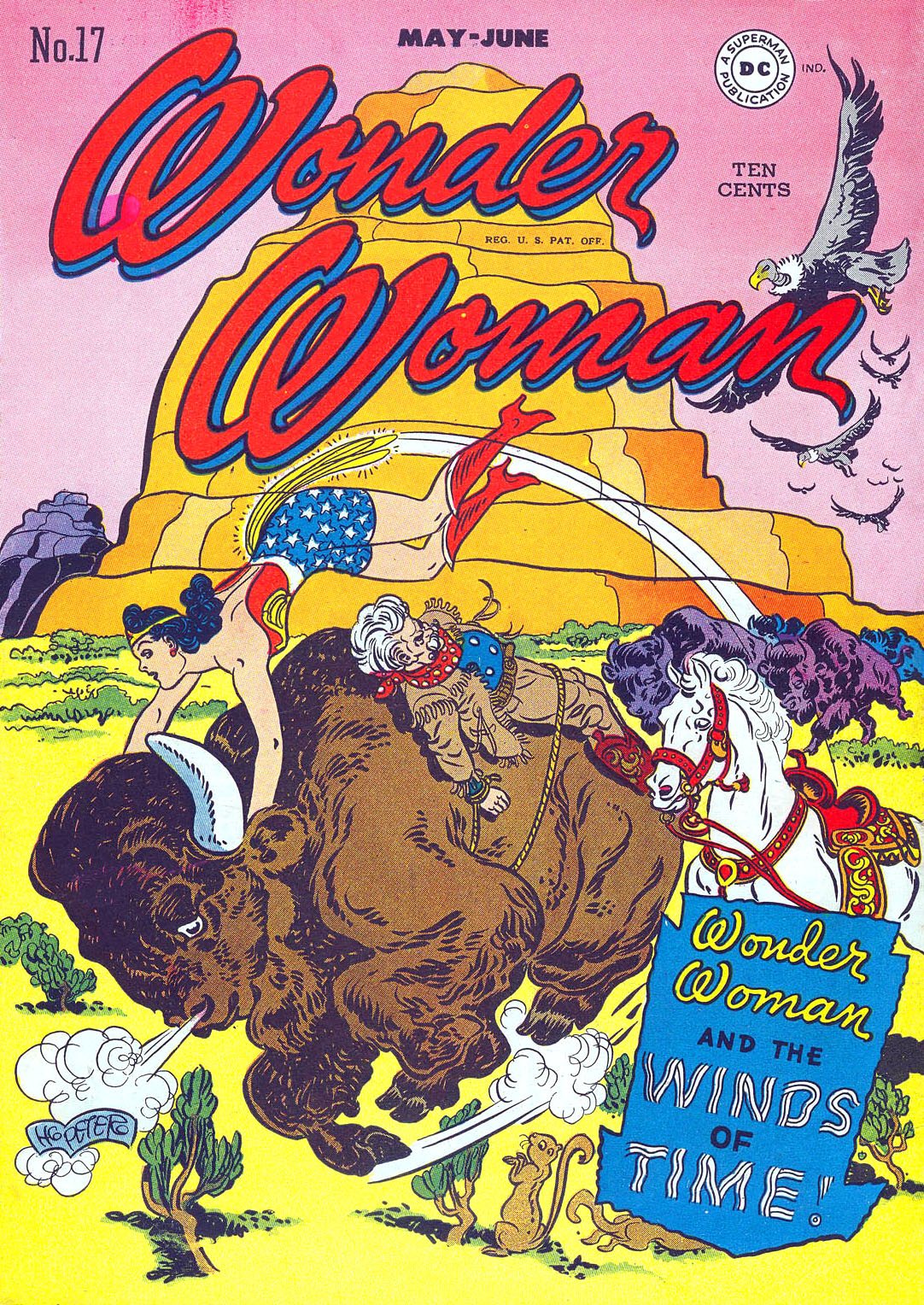 Read online Wonder Woman (1942) comic -  Issue #17 - 1