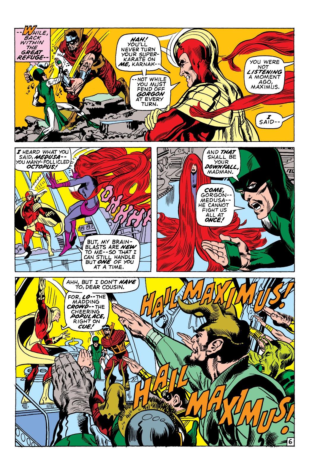 Read online Marvel Masterworks: The Inhumans comic -  Issue # TPB 1 (Part 2) - 30