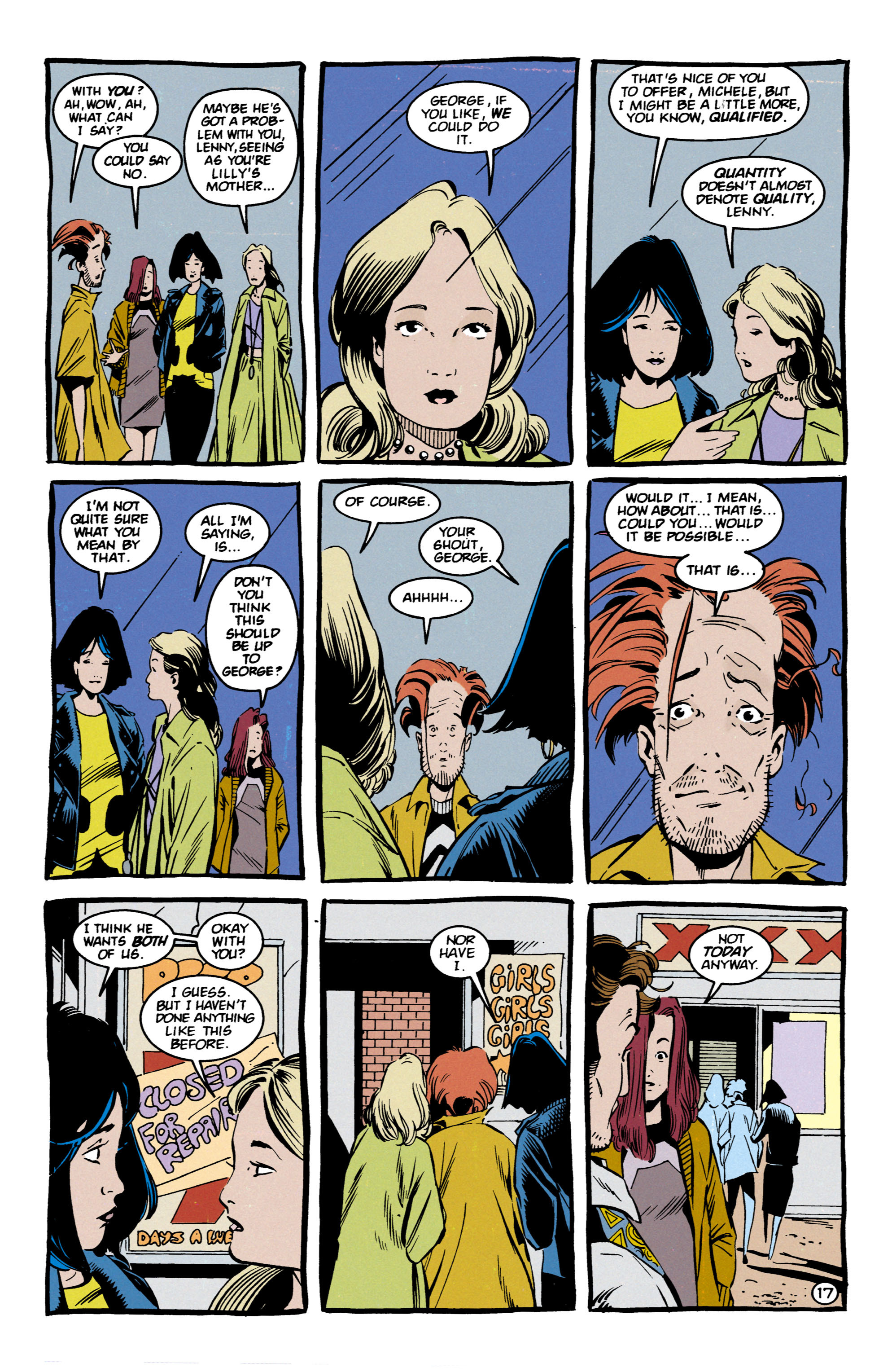 Read online Shade, the Changing Man comic -  Issue #57 - 18