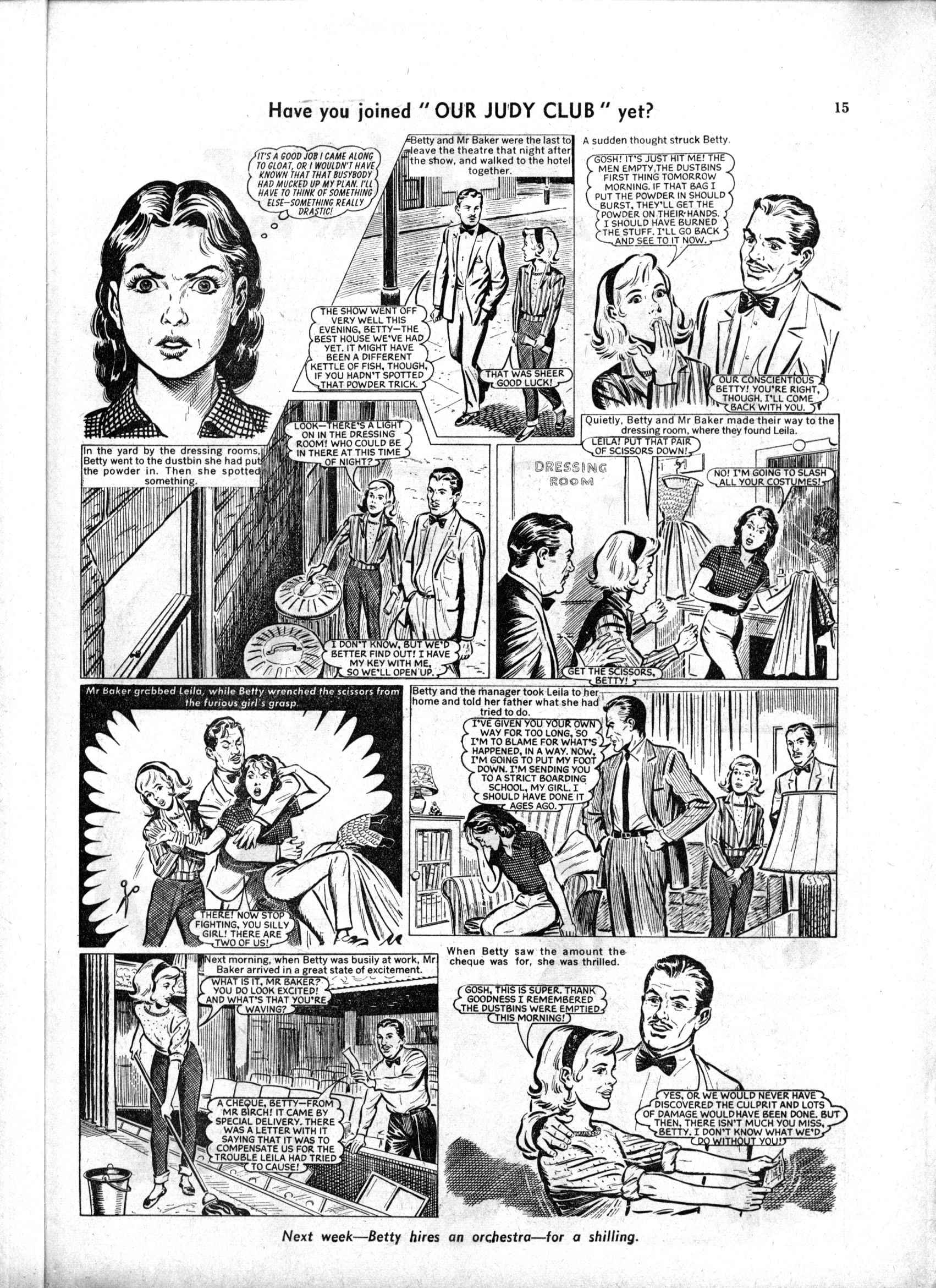 Read online Judy comic -  Issue #189 - 15